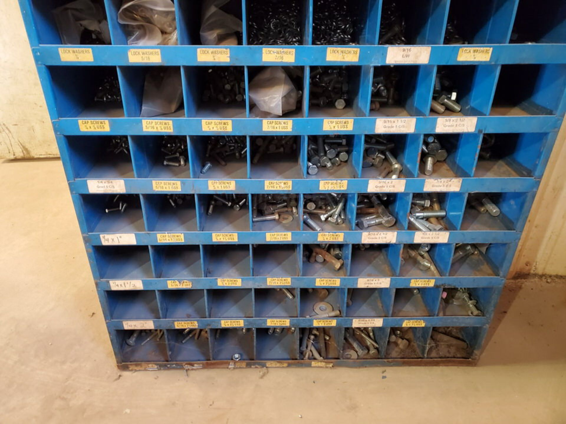 """(2) Parts Bins To Include But Not Limited To: Nuts, Bolts, Washers, etc. Size Range: 1/4""""-4"""" - Image 5 of 15"""