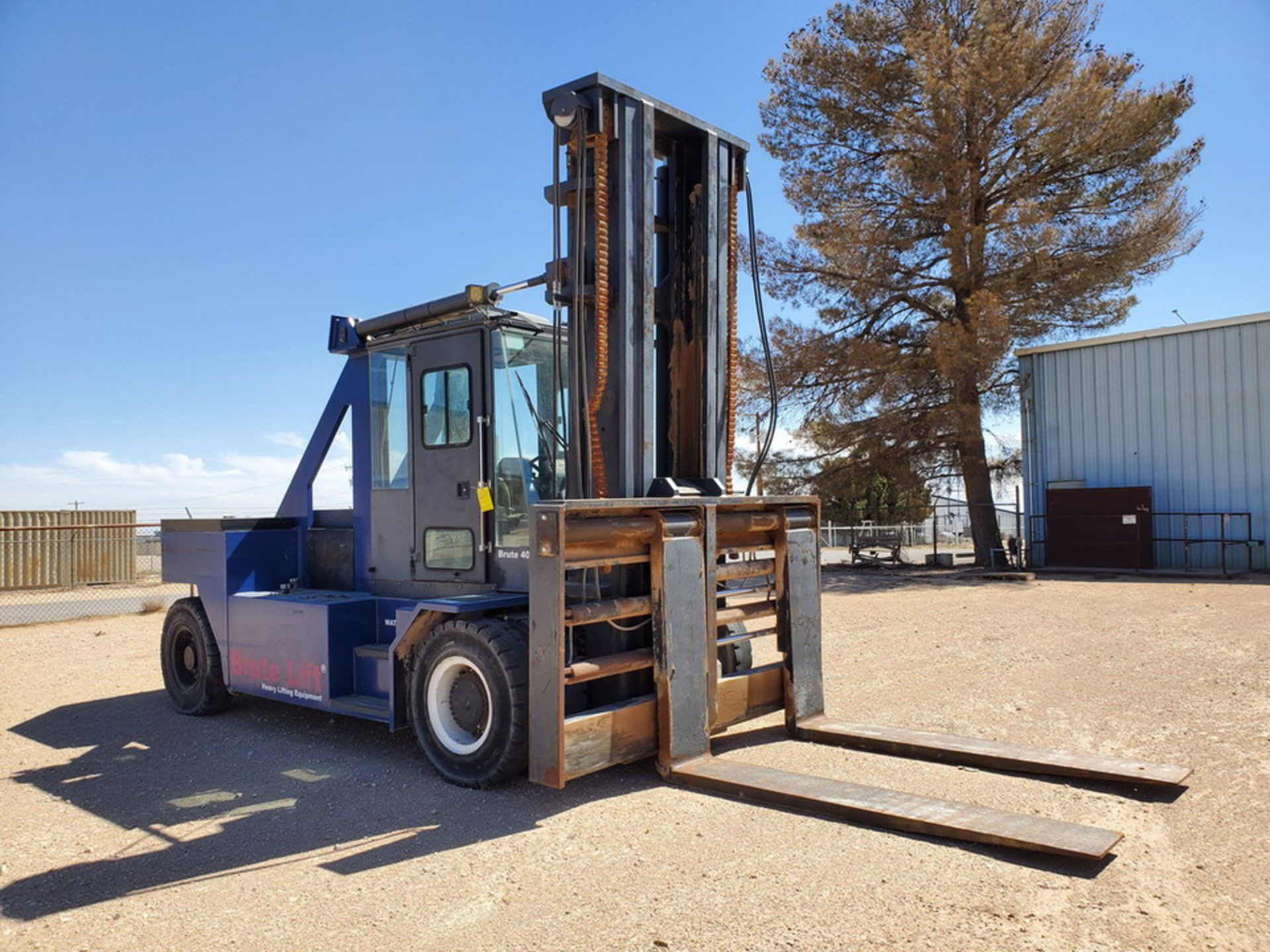 2012 Brute Lift BT40-48 Forklift 40H Cap., Engine Hrs: 3,389.3