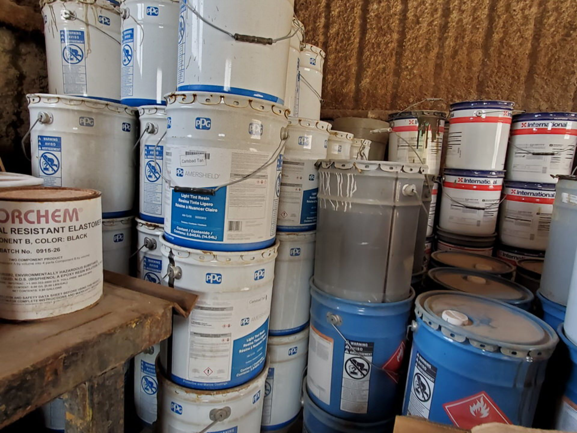 Assorted Paints & Marine Coatings Mfg's: PPG, Intl. & Other - Image 6 of 10