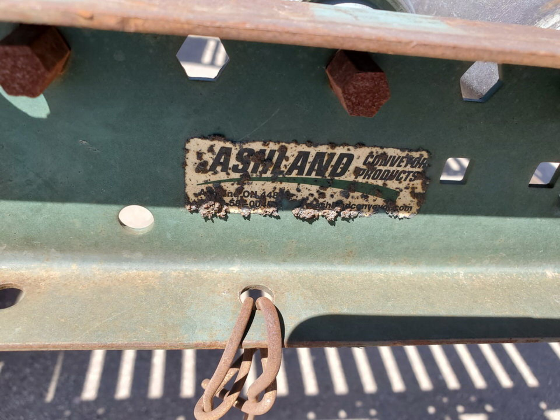 "Ashland & Other (6) Roller Conveyor 10' x 24"" - Image 7 of 7"