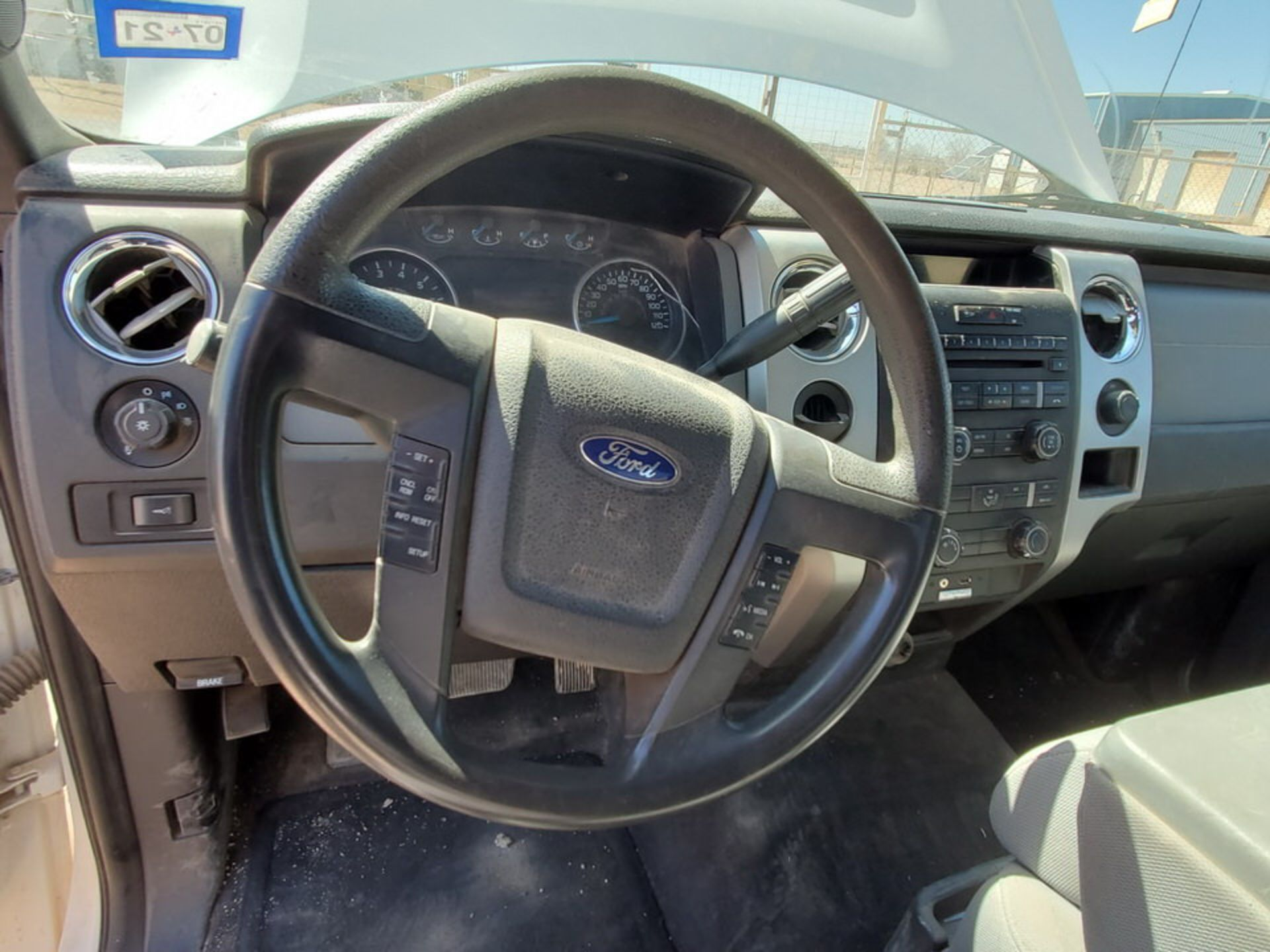 2013 Ford F150 Pickup Vin: 1FTFW1CF0DKF14097, TX Plates: CFT 3081, W/ 6.2L Engine - Image 7 of 19
