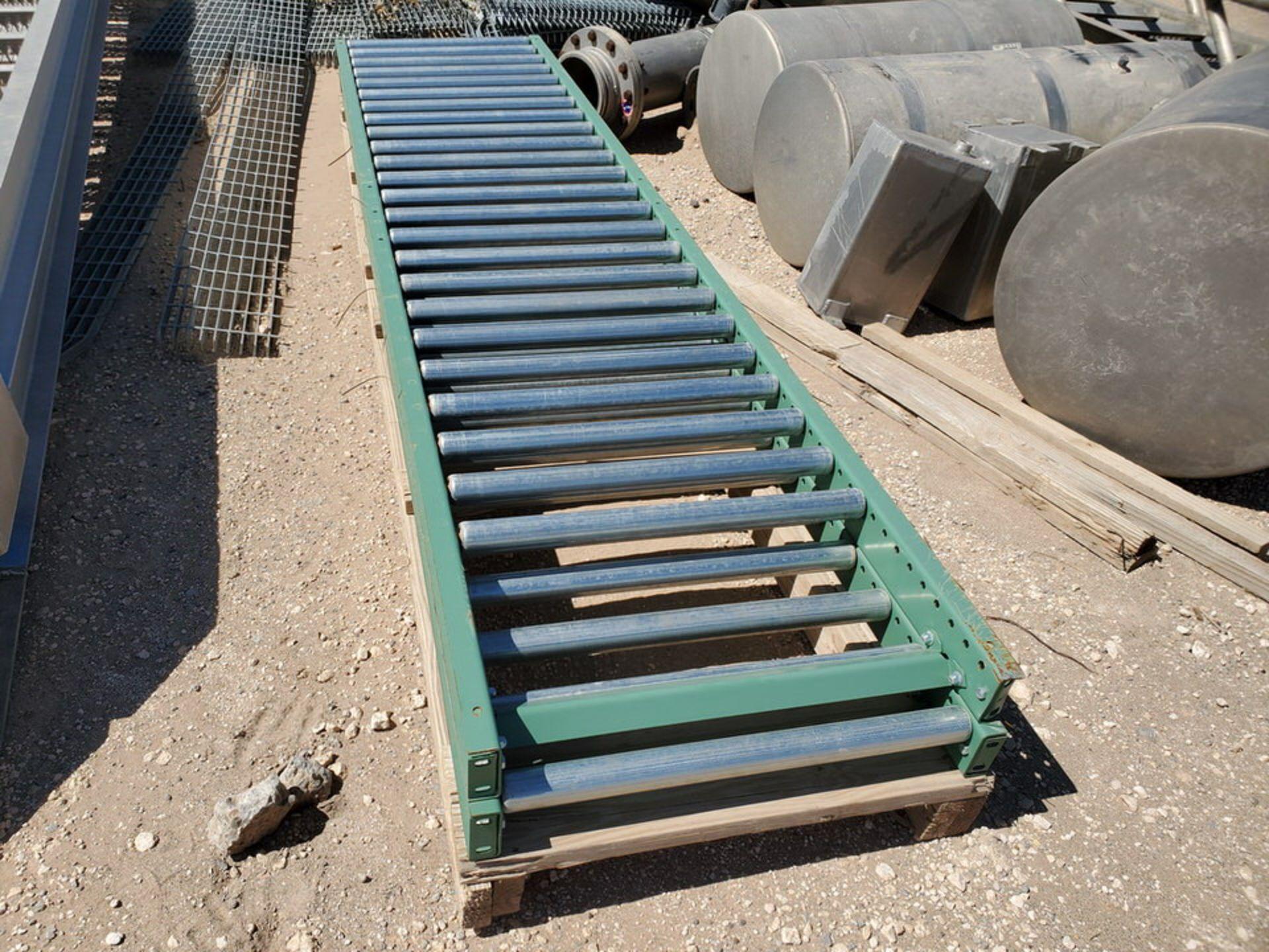 Grating Size Range: 1' - 3'W, 6' - 20'L; W/ Rolling Conveyor - Image 10 of 12