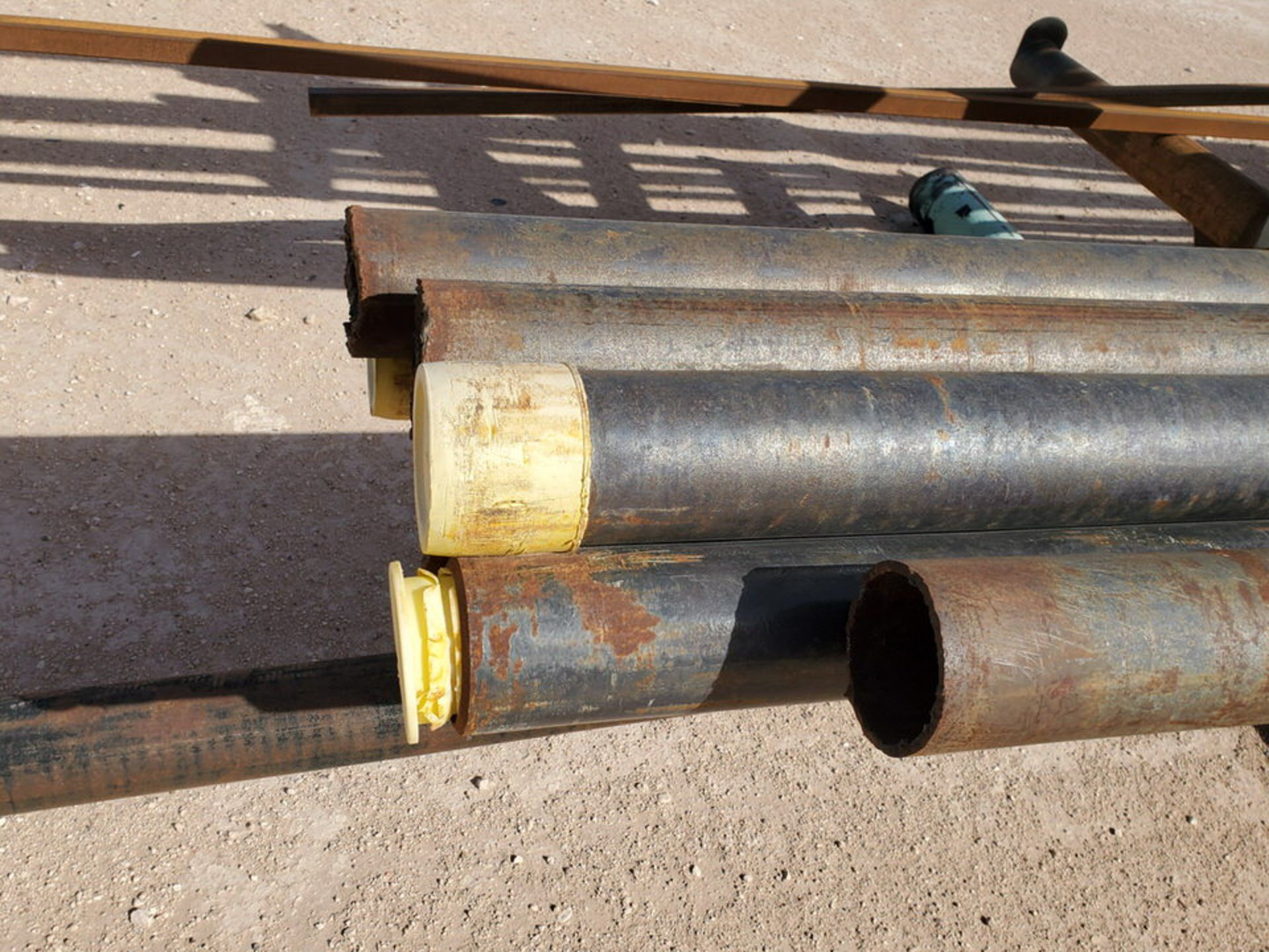 """(25) Pipe, Sq. Tube & Other D: 1-1/2""""-4""""; L: 15'-21'; W/ Racks - Image 3 of 14"""