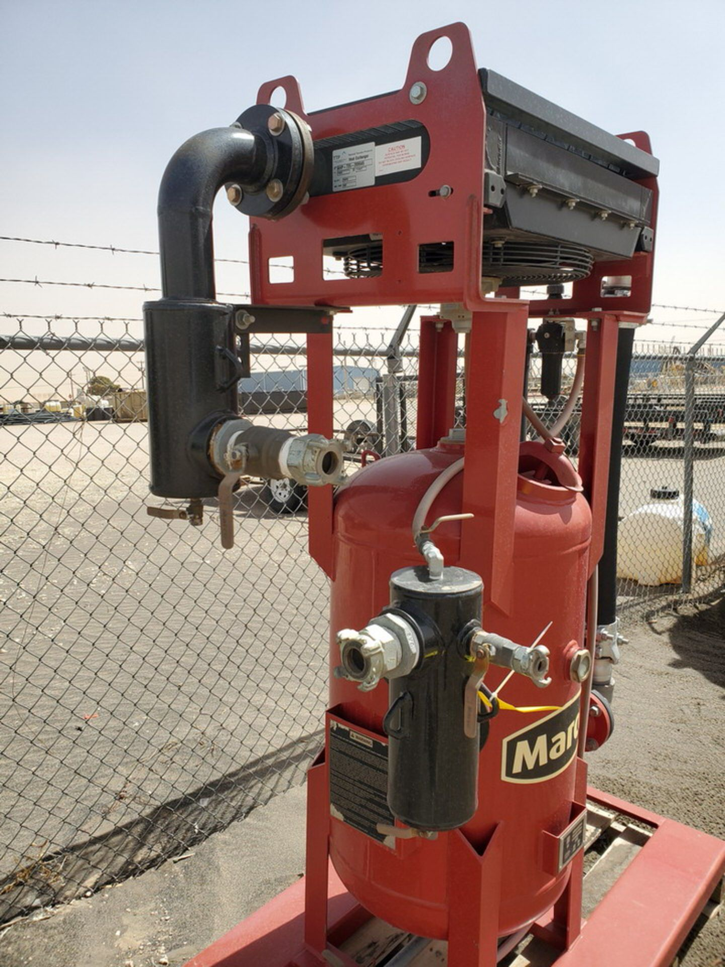 """2017 Marco Air Dryer 150psi@250F, -20@150psi, Vessel Dims: 30"""" Seam To Seam; Overall Dims: 72"""" x 35"""" - Image 8 of 11"""