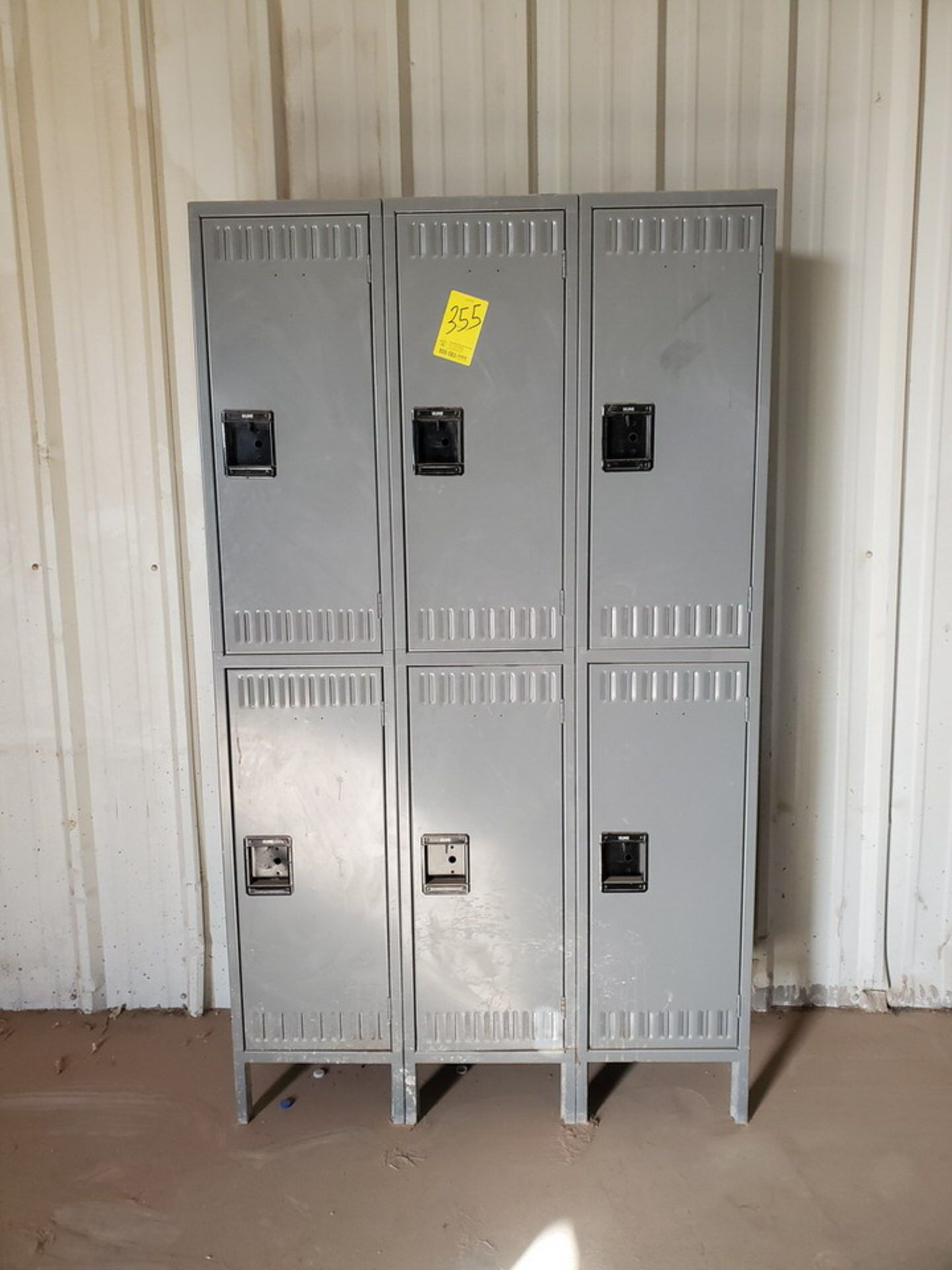 "U-Line (1) Section Of (6) Lockers 18"" Deep, 35""W x 78""H - Image 2 of 4"