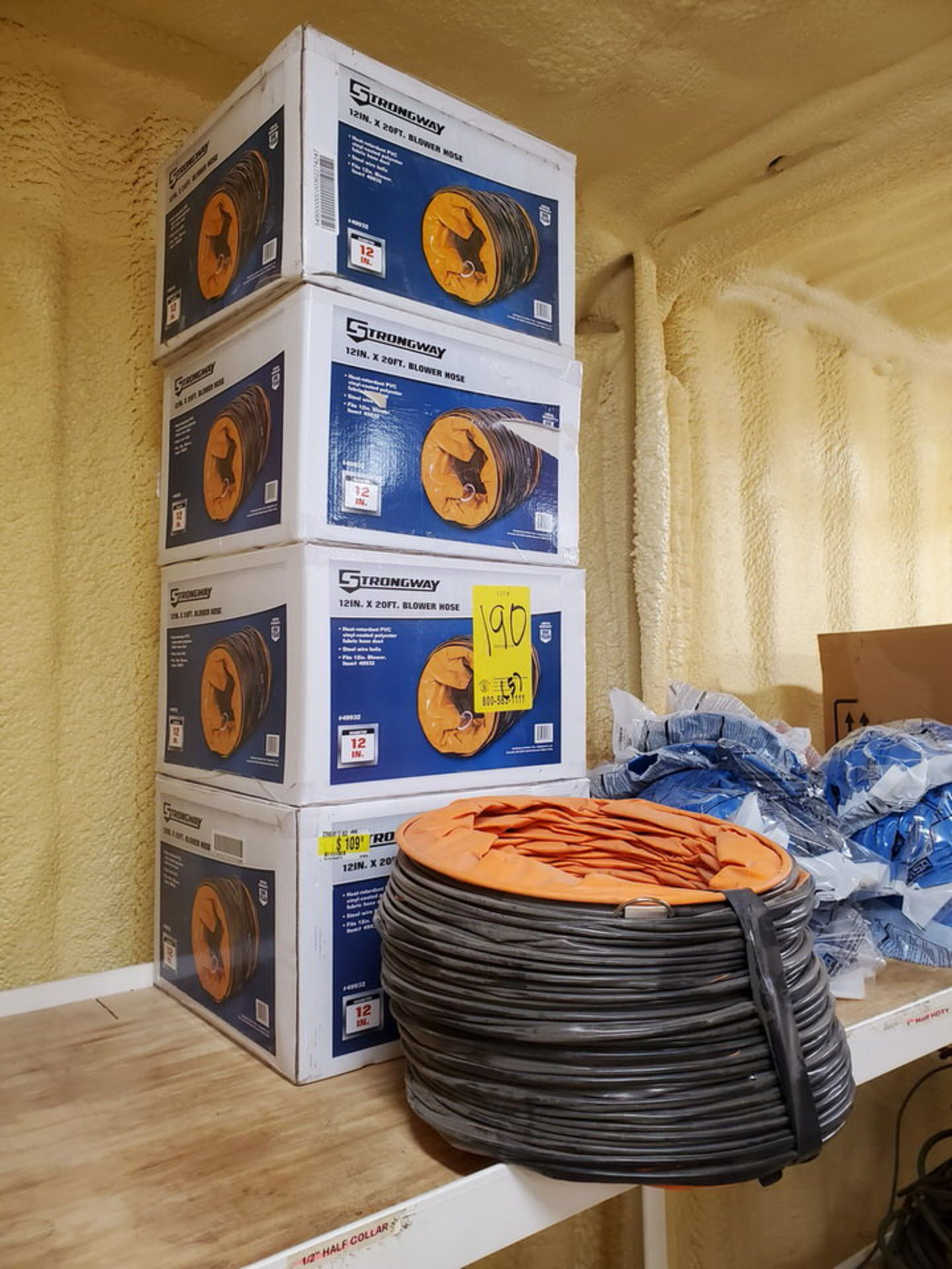 """Strongway 12"""" x 20' Blower Hoses - Image 3 of 4"""