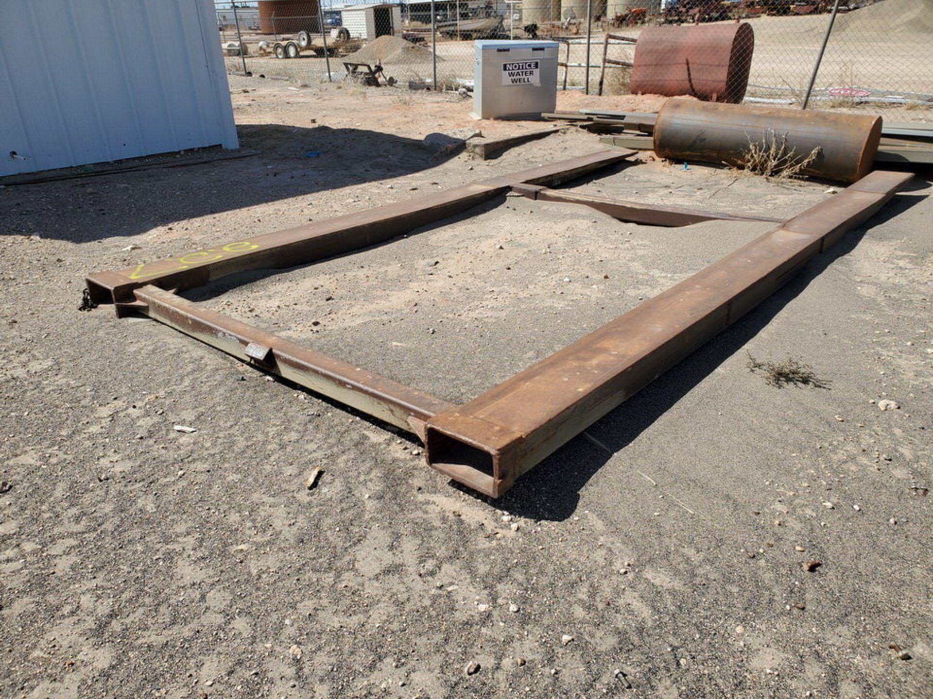 """Forklift Attechment 15'8"""" x 7'11"""", 9-1/2"""" Forks I.D. - Image 3 of 8"""