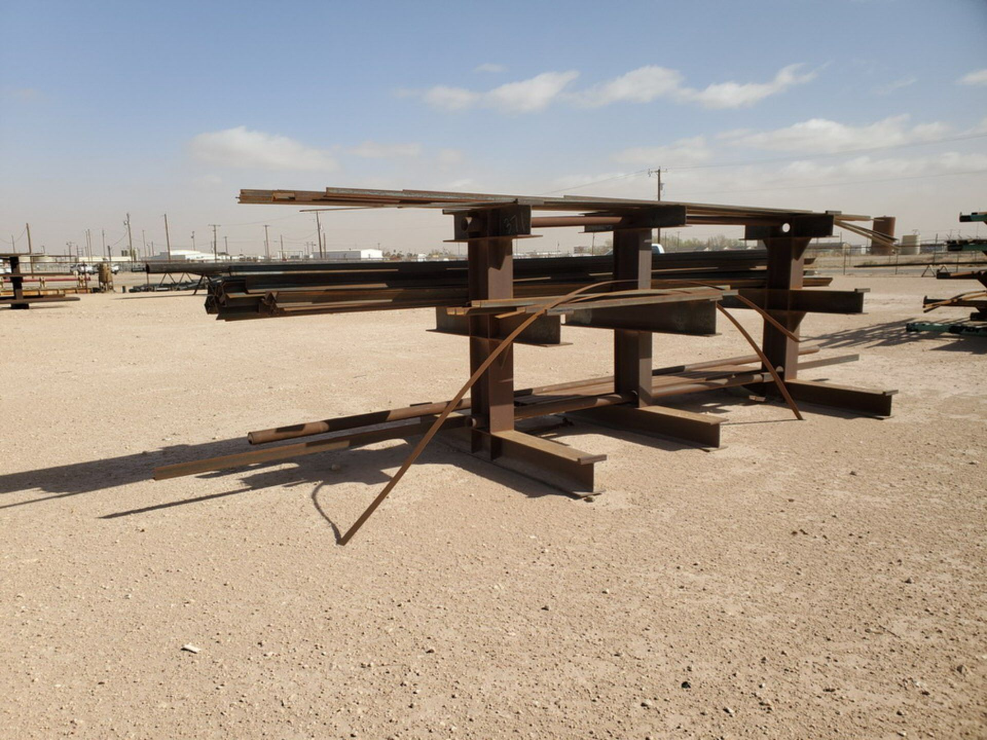 """(65) Angle, Pipe, Rect. Tubing & Other D: 3""""-4"""", L: 10' - 23'6""""; W/ Racks - Image 7 of 19"""
