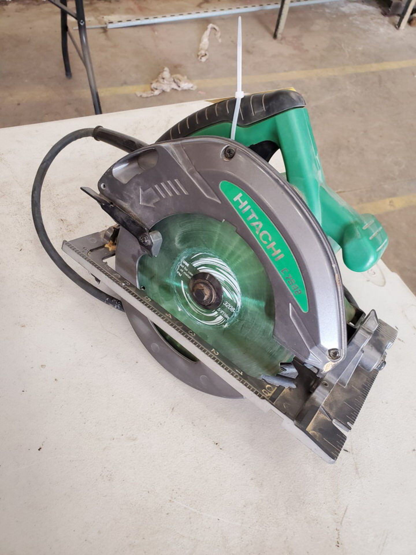 "Hitachi 7-1/4"" Circular Saw 120V, 15A, 60HZ, 5800RPM"