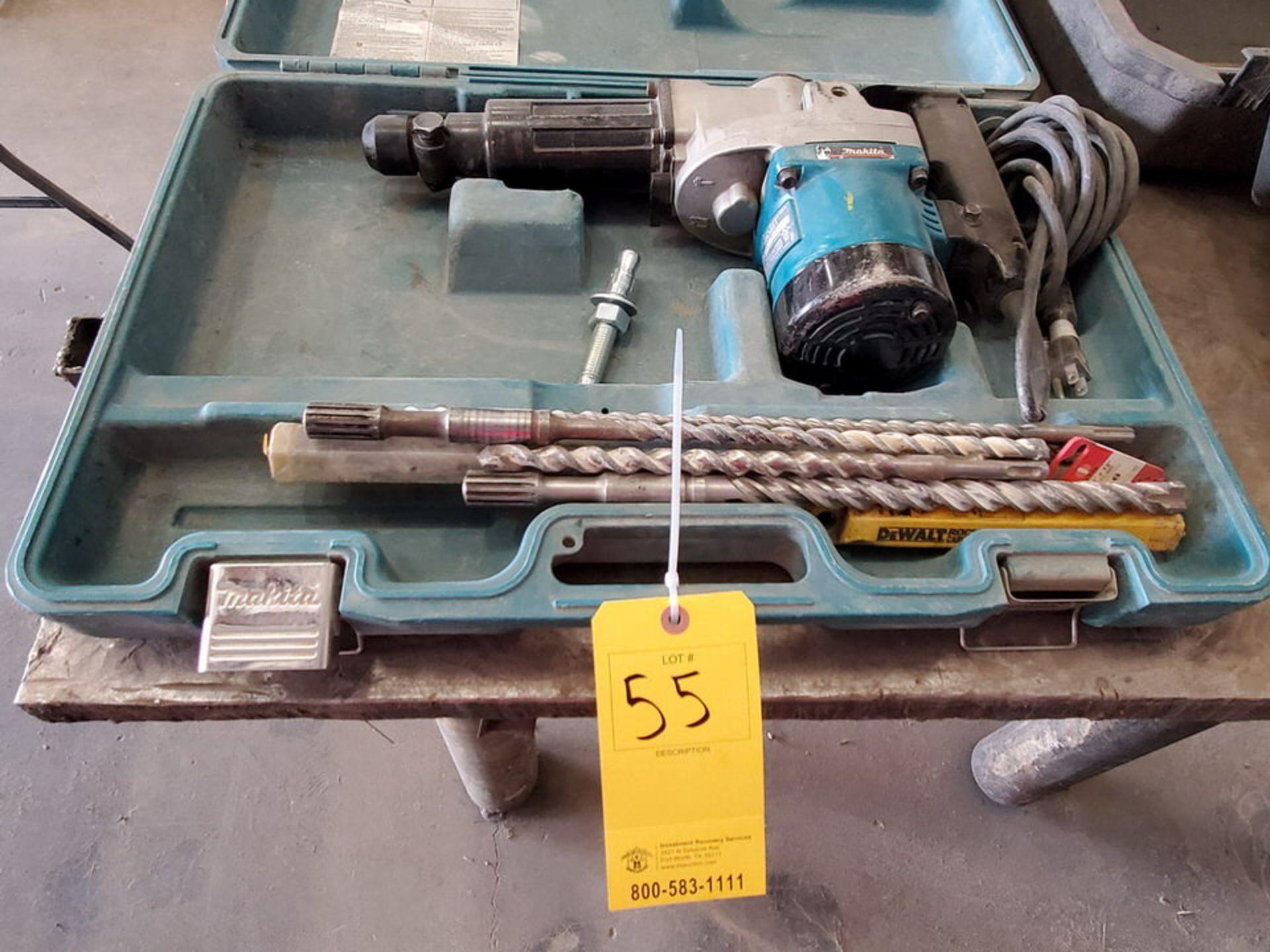 """Makita HR3851 1/2"""" Rotary Hammer 120V, 10A, 2900RPM"""