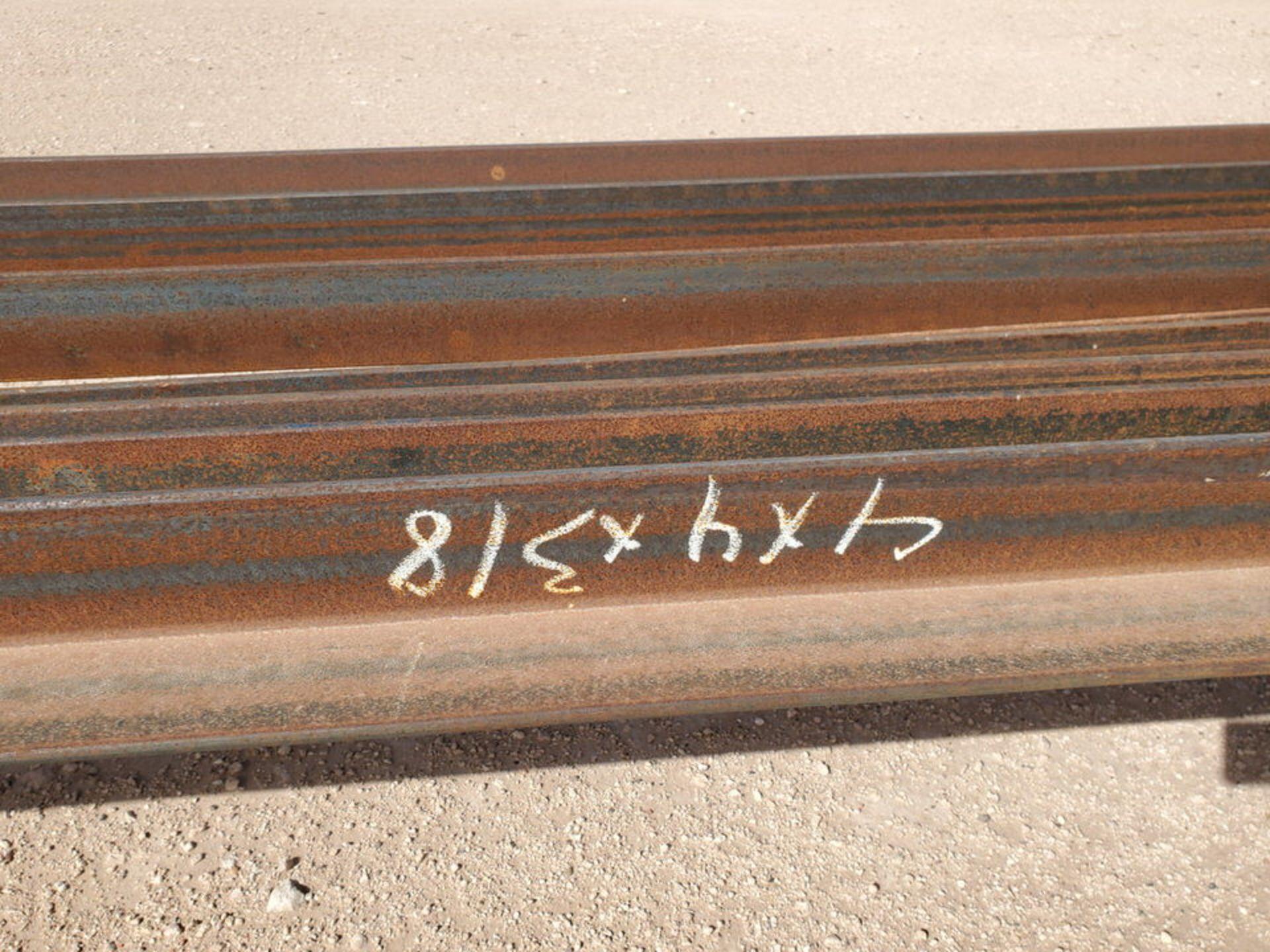 "(9) Angle Dia: Range 3"" x 3 x 3/8""- 4"" x 4"" x 3/8"", L: 32'-42' - Image 5 of 9"