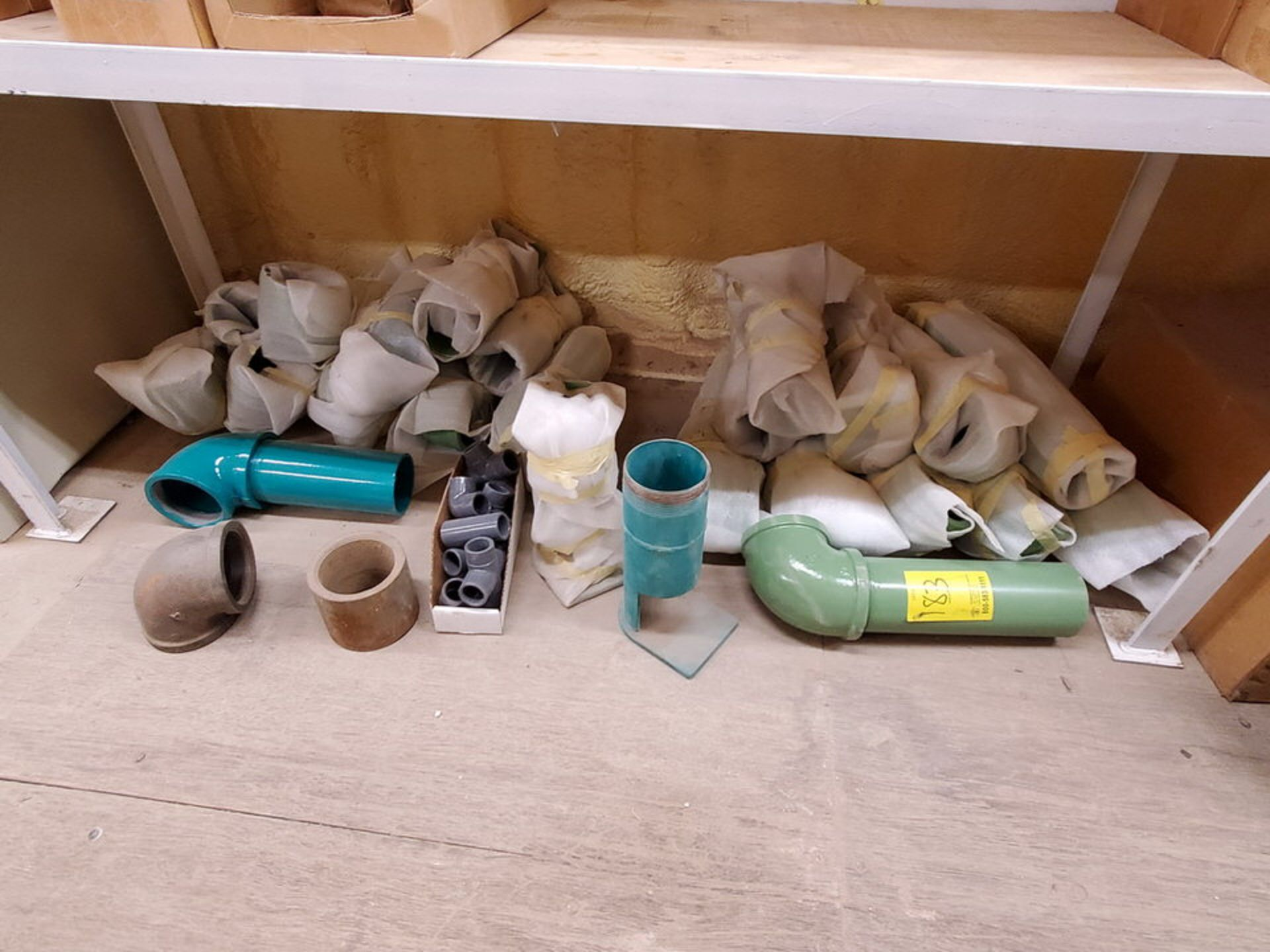 Assorted Fittings To Include But Not Limited To: Ells, 90's, Couplings, Nipples, U-Bolts, Washers,