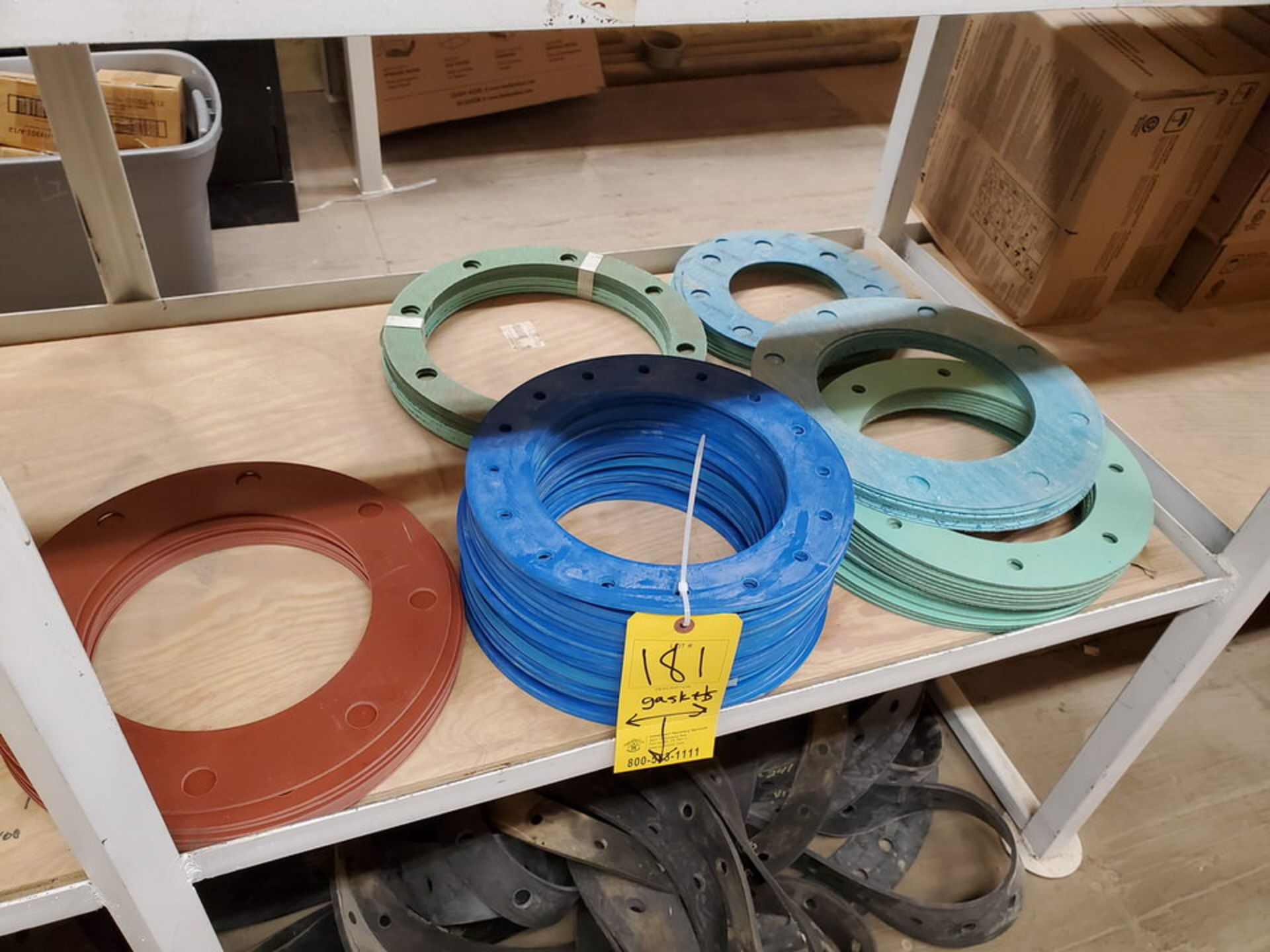 """Assorted Gaskets 9"""" - 48""""; W/ Assorted Springs - Image 6 of 13"""