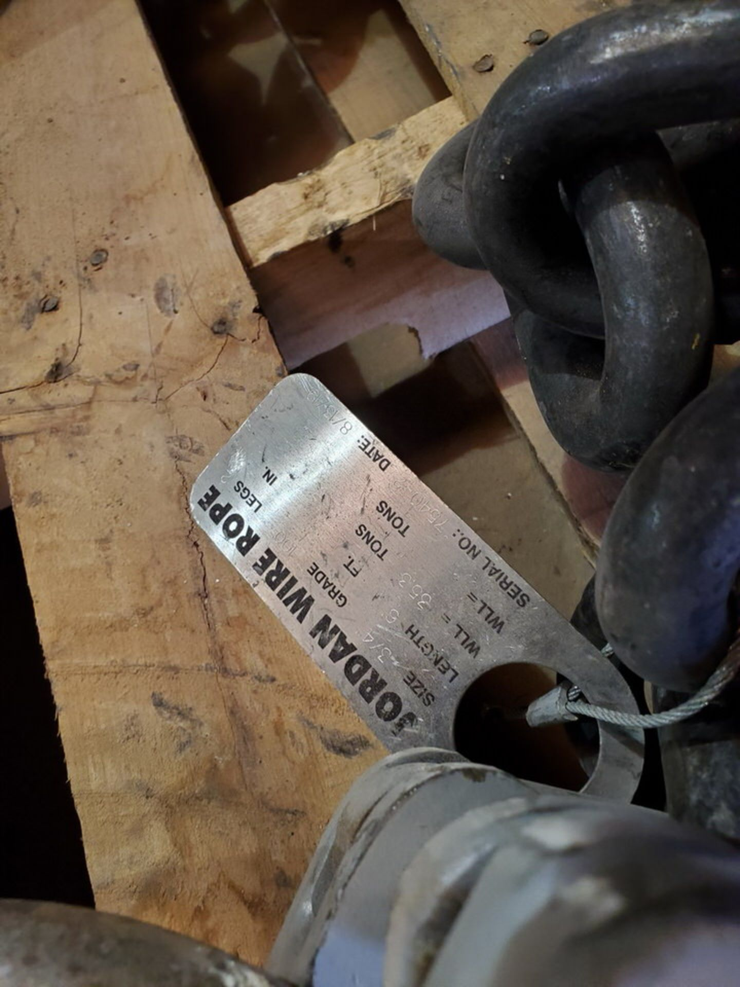 Hvy Duty Lifting Chains - Image 5 of 7
