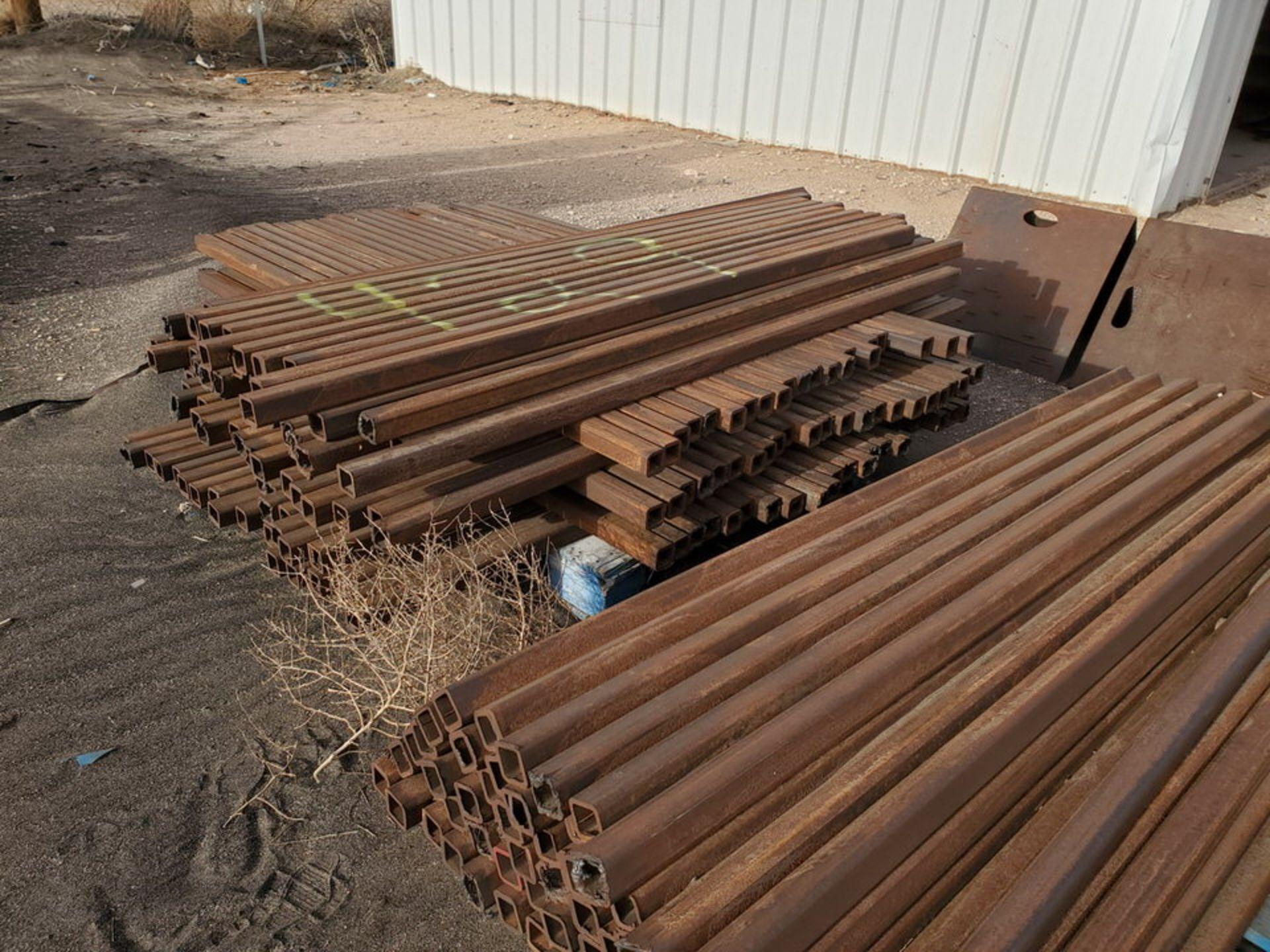 "Assorted Tubing 2"" x 76"" Sq. Tubing; (4) 4"" x 10' - Image 13 of 13"