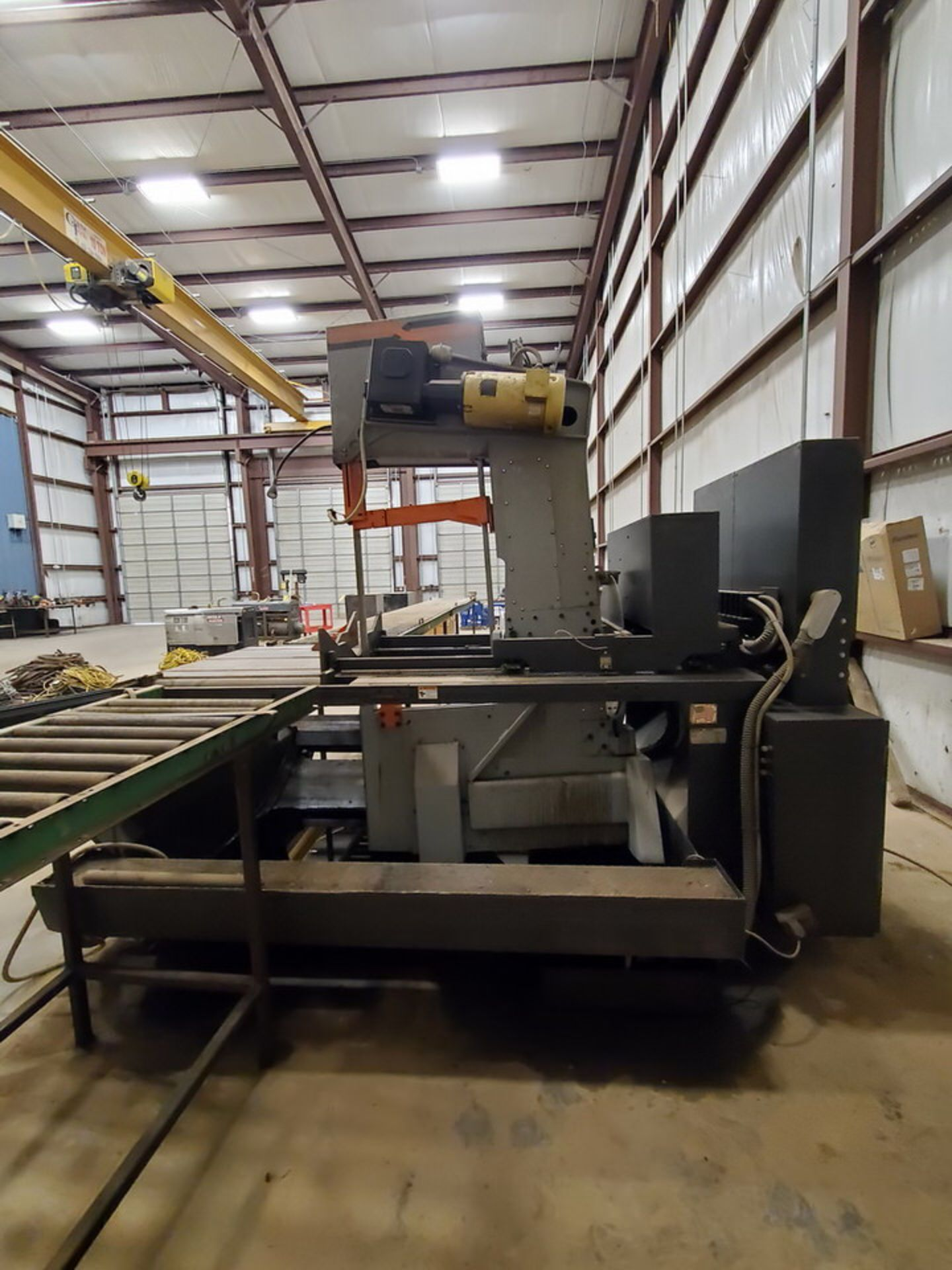 "HEM VT140HM-60-CTS Vertical Bandsaw 440V, 10HP, 23.61A, Blade L: 1-1/2"" x 20' x .050""; W/ Spare - Image 5 of 16"