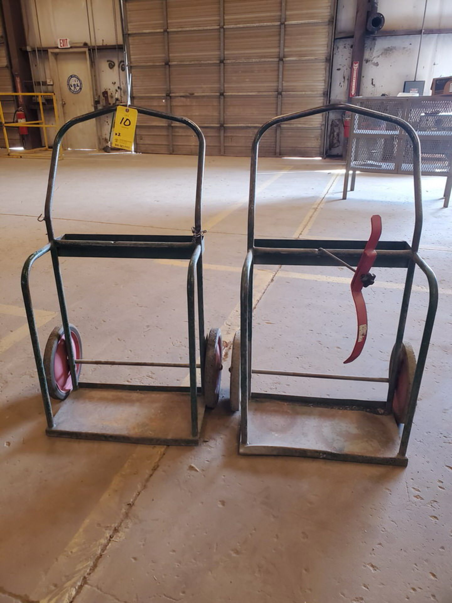 (2) Torch Carts - Image 2 of 2