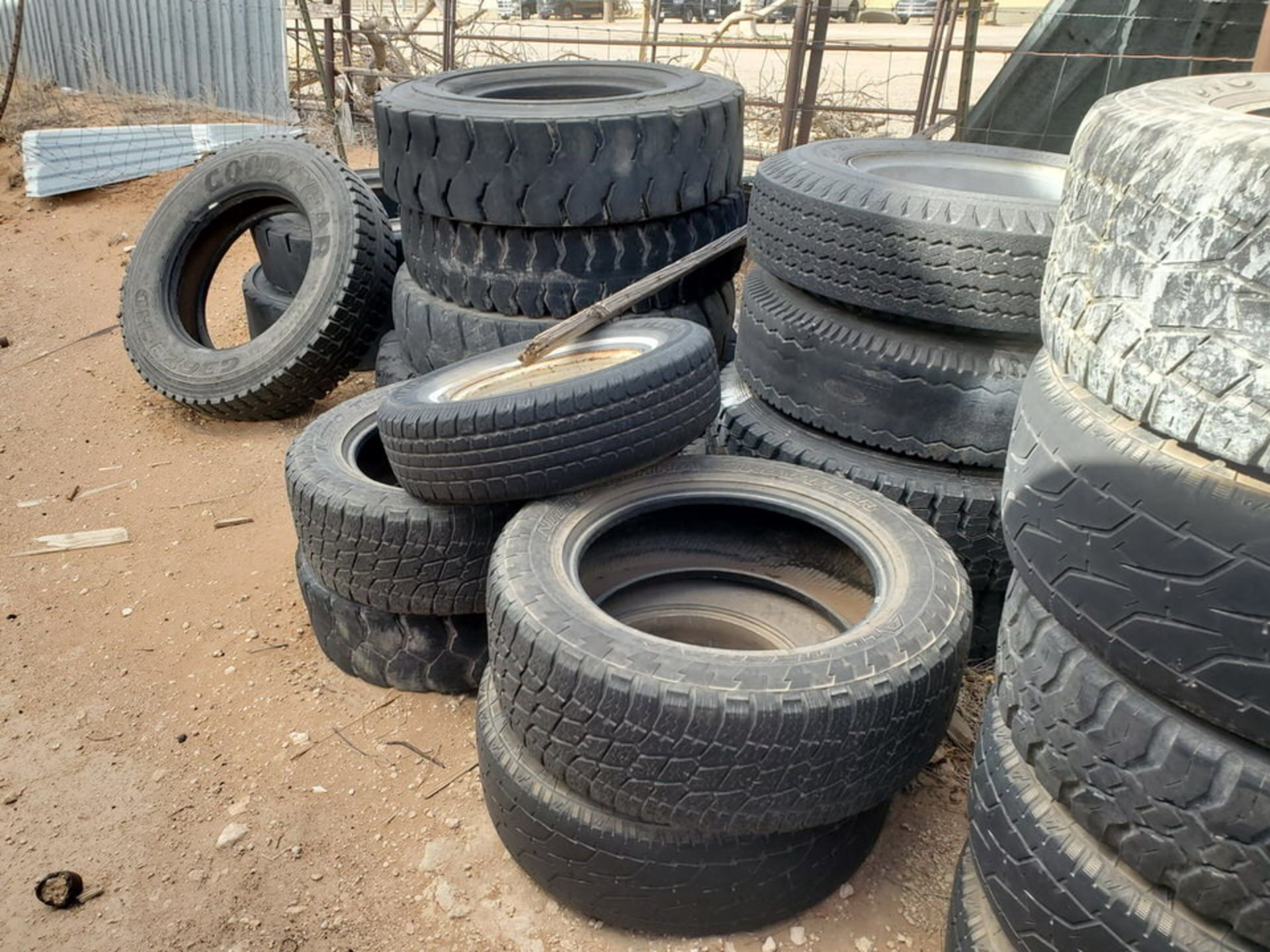 Assorted Tires W/ Rack - Image 6 of 9