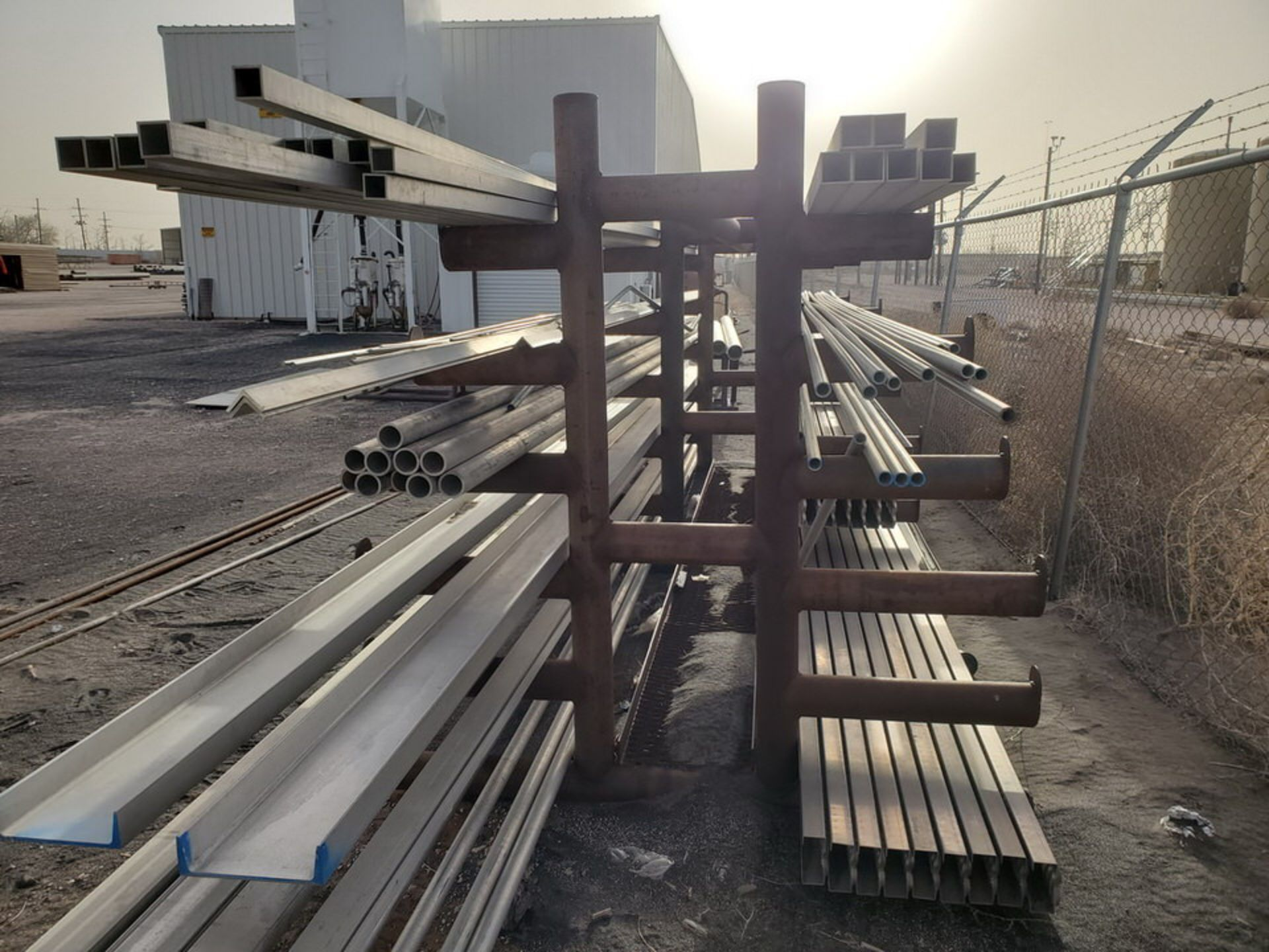 """Doublesided Cantilever Rack 15' x 6' x 6'4""""H - Image 2 of 8"""