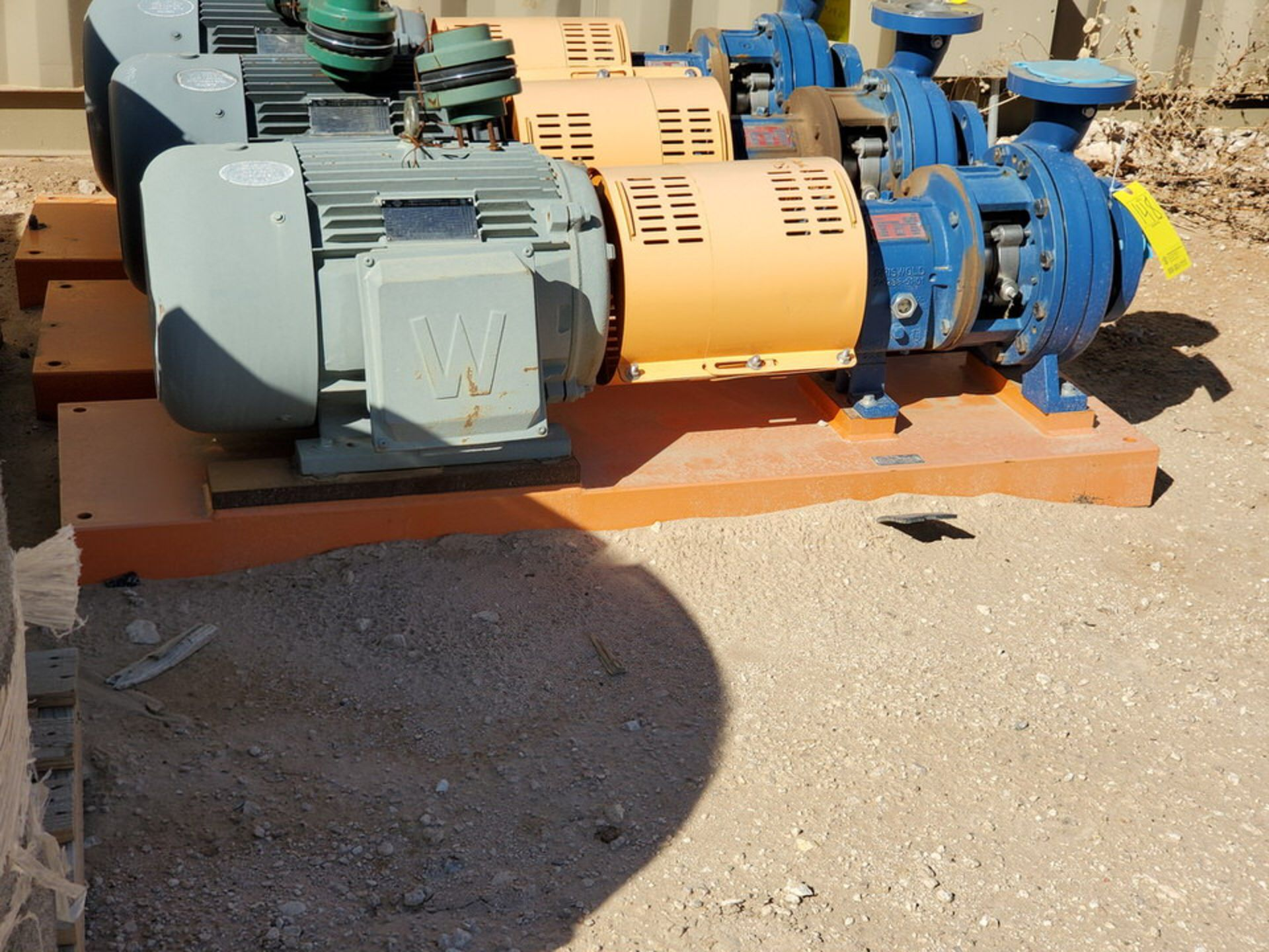 2018 Griswold 811M Centrifugal Pump Size: 4 x 3-10, 7.83 Imp Dia; W/ 50HP Motor - Image 4 of 8