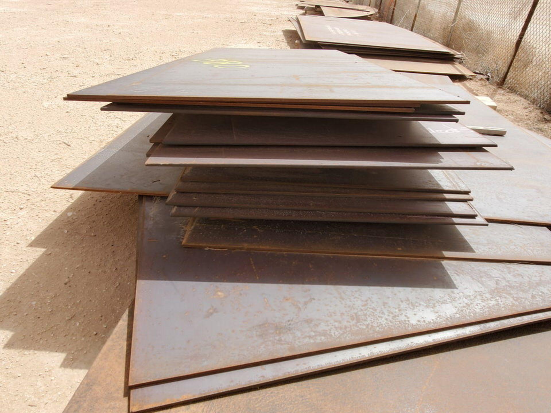 """(25) Sheet Metal 8' x 16' - 10' x 10', 1/2""""Thk - Image 9 of 10"""