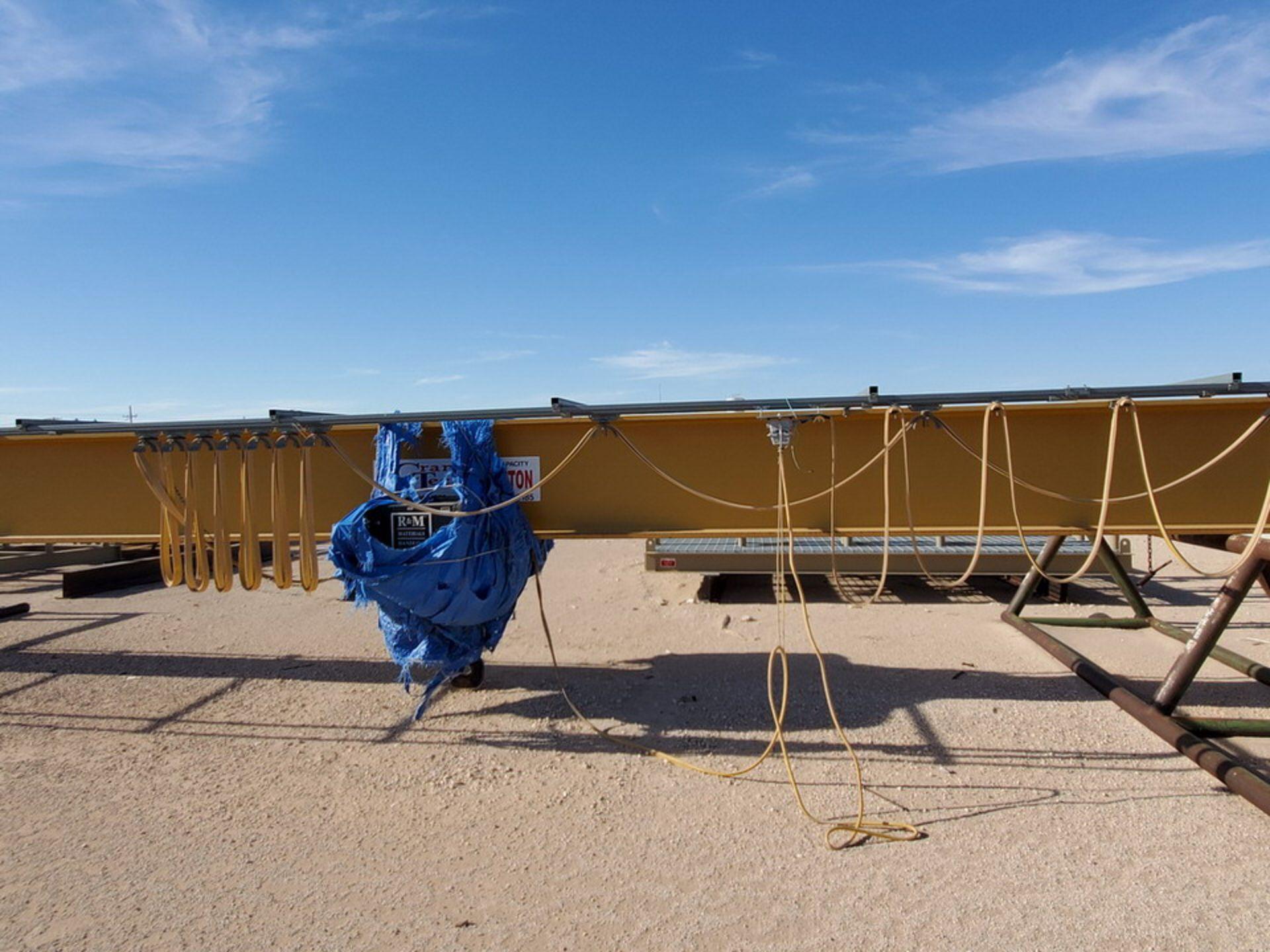 R & M 10 Ton Top Riding Bridge Crane Approx. 66' x 10'L - Image 31 of 39