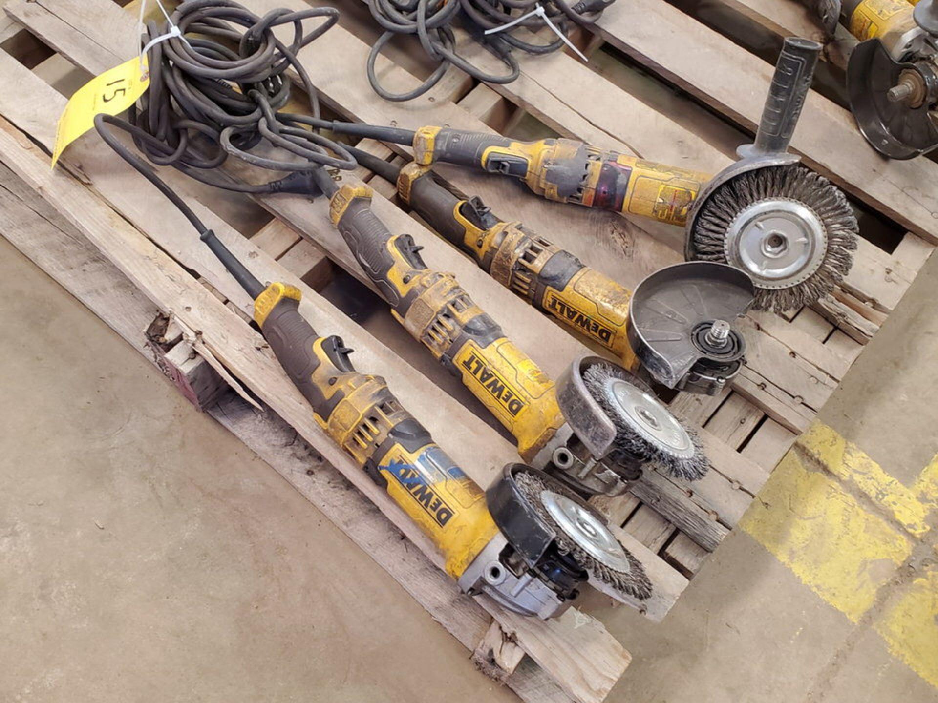 """Dewalt (4) 6"""" Angle Grinders 120V, 12A - Image 3 of 5"""