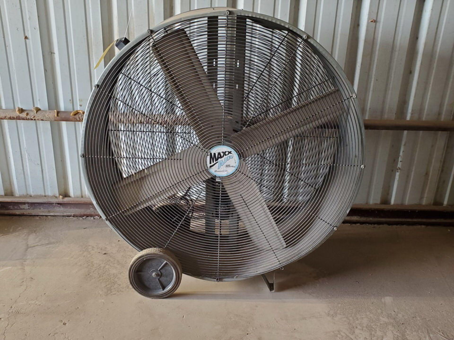 "Maxx 42"" Portable Air Drum Fan - Image 2 of 4"