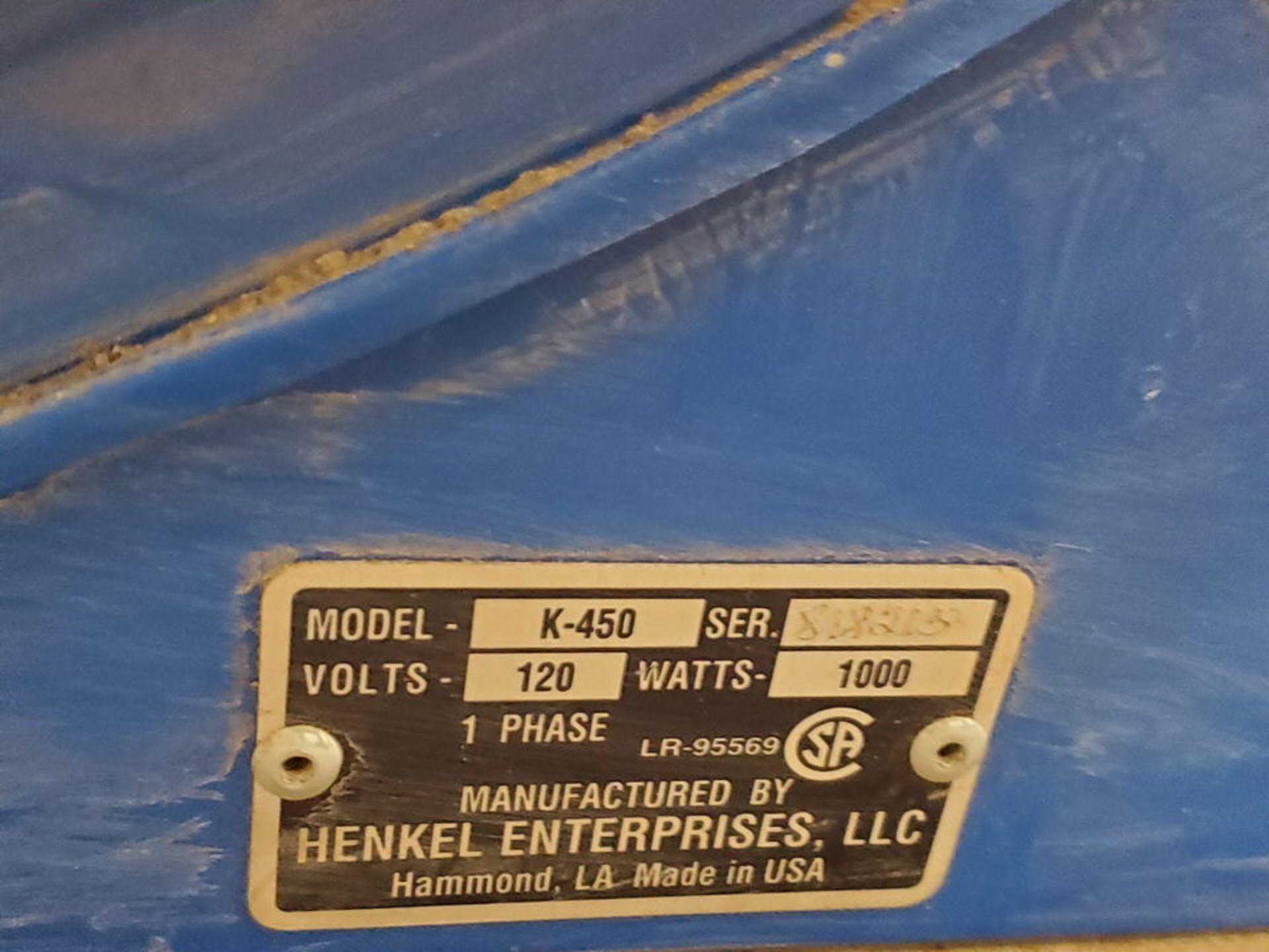 Henkel K-450 Dry Rod Oven 120V, 1,000W, 1PH - Image 5 of 5