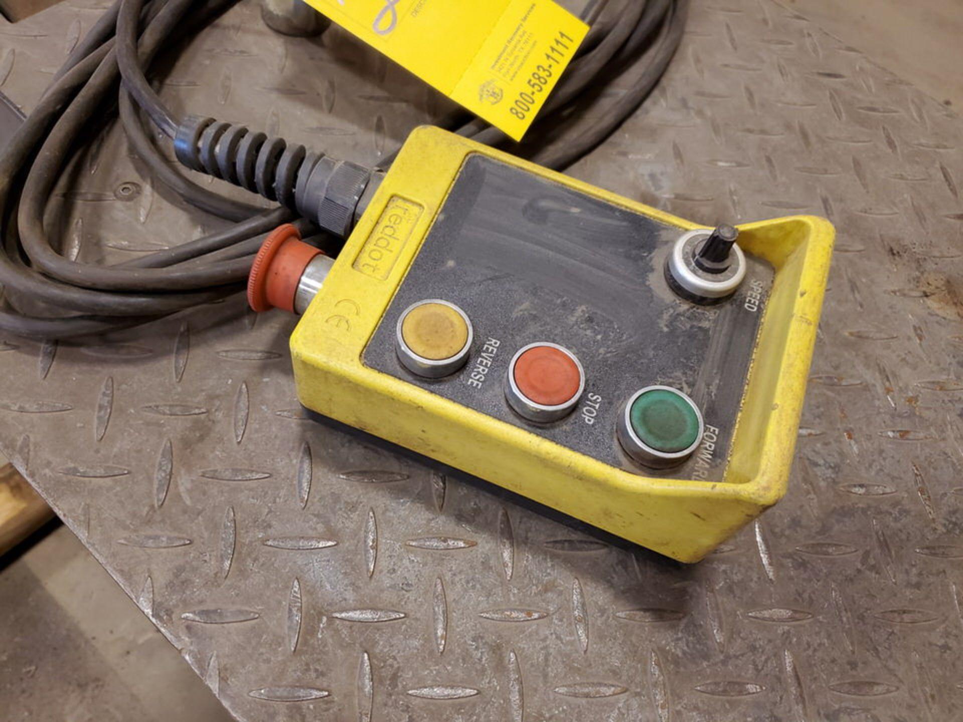 "Profax TR-40000 Turn Roll 40K Cap., 440V, 15A, 50/60HZ, 3PH, RPM: 0-1.7, 6"" Wheel Dia - Image 8 of 8"