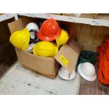 PPE Hard Hats & Faceshields