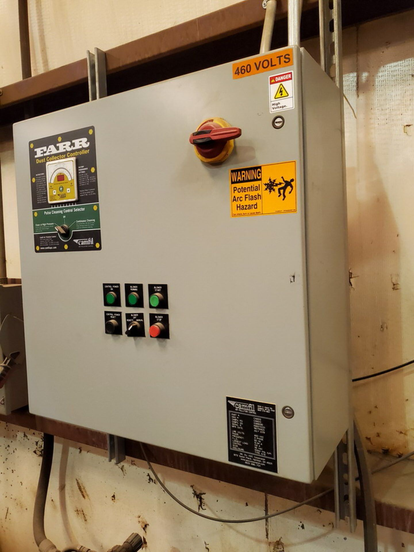 2019 Camfil GSX8 Dust Collector 3,380CFM - Image 6 of 8