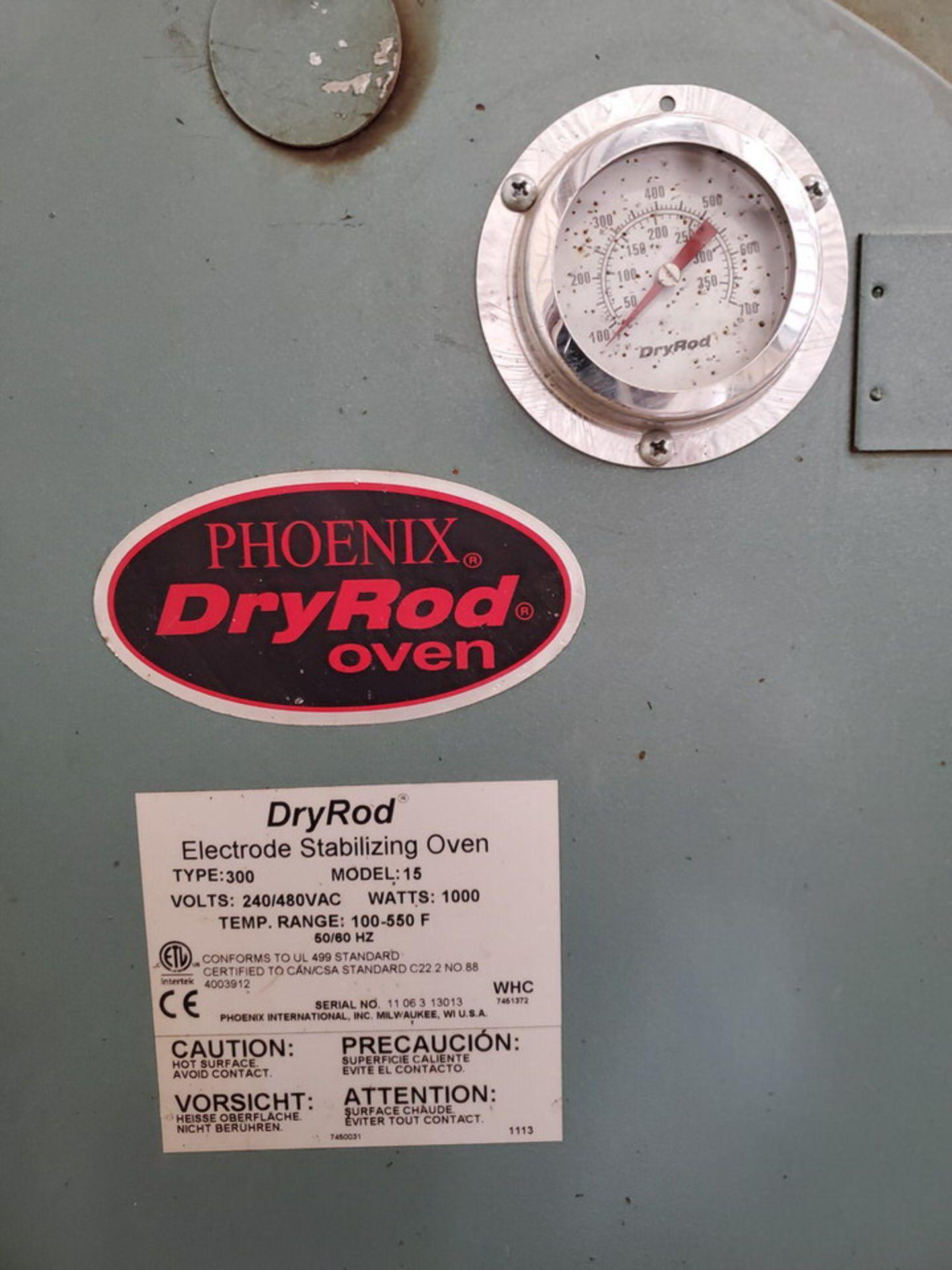 Phoenix 15 Dry Rod Oven 240/480V, 1,000W, 50/60HZ, Temp Range: 100-550F - Image 4 of 4