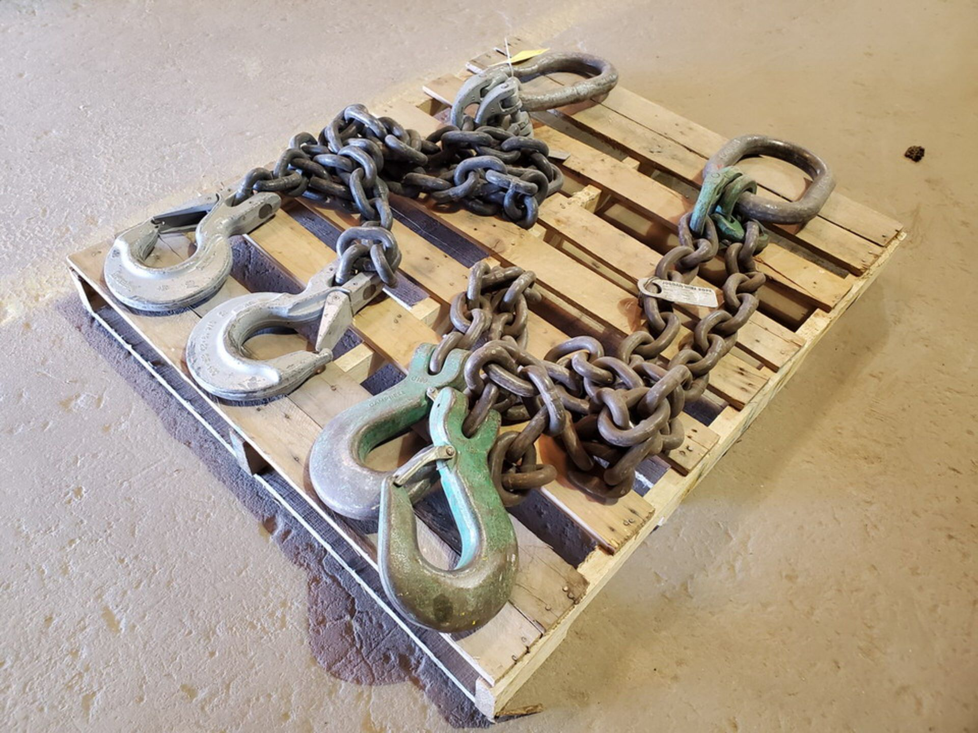Hvy Duty Lifting Chains - Image 2 of 7