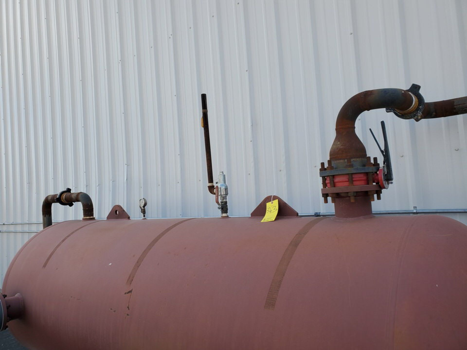 Manchester Air Receiving Tank 4'Dia, 10' S/S; 200psi@400F, -20@200psi - Image 3 of 7