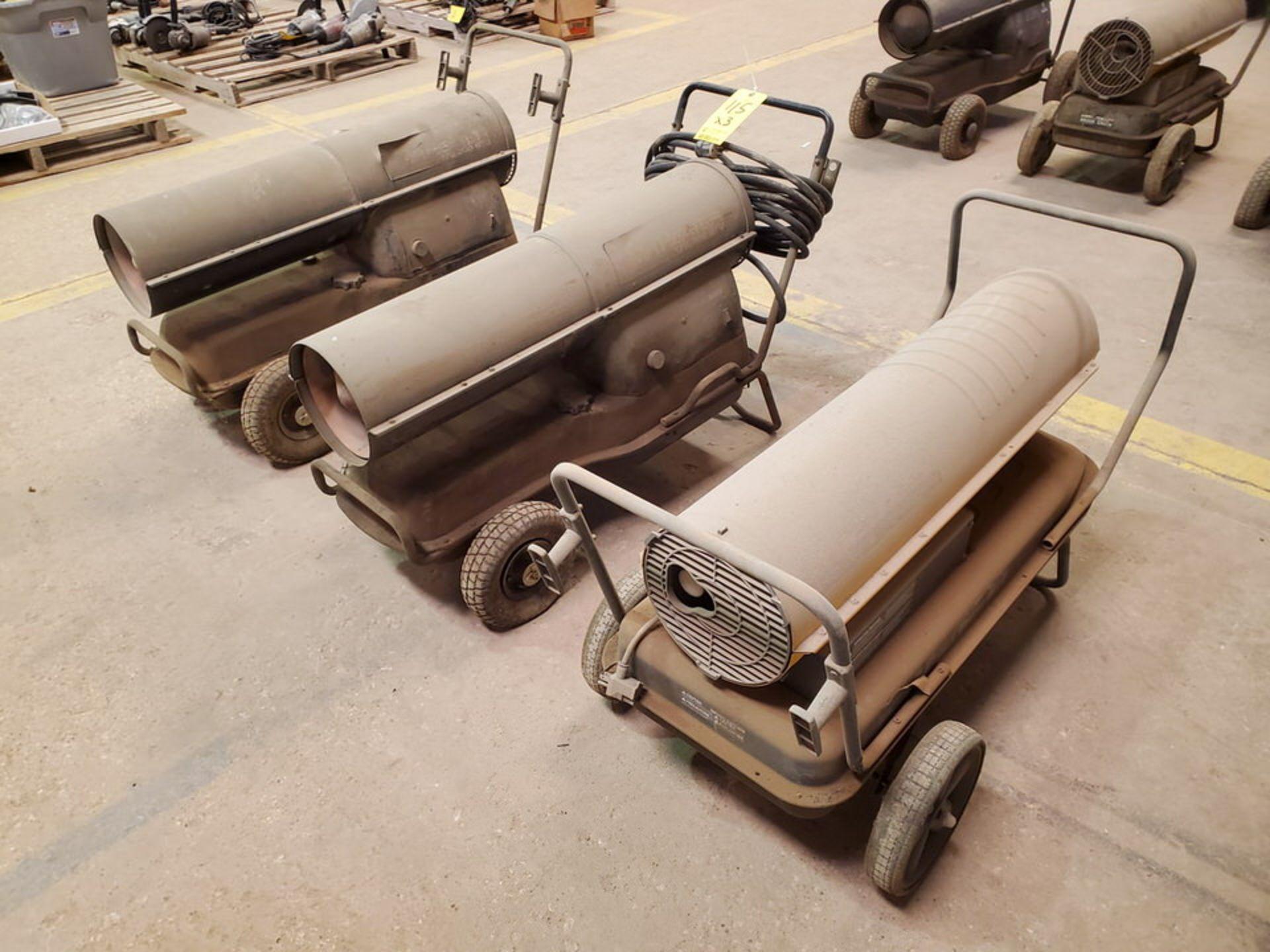 (3) Torpedo Heaters BTU: 175-215K (Mfg- Mr. Heater & etc.) - Image 2 of 6