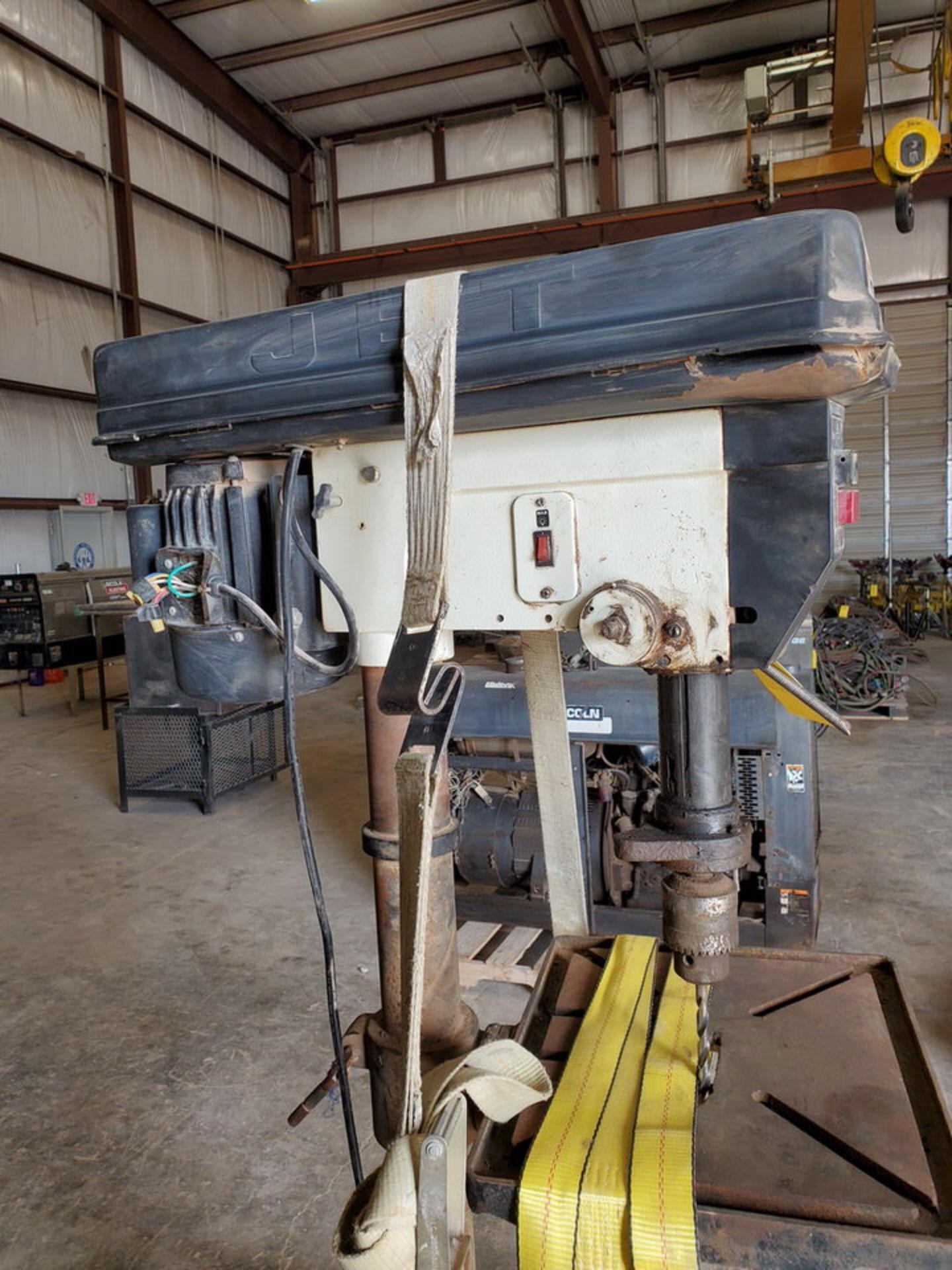 "JDP-20MF 20"" Drill Press 115/230V, 1-1/2HP, 1720RPM, 1"" Drilling Cap.; 16"" x 18"" Work Table - Image 5 of 8"