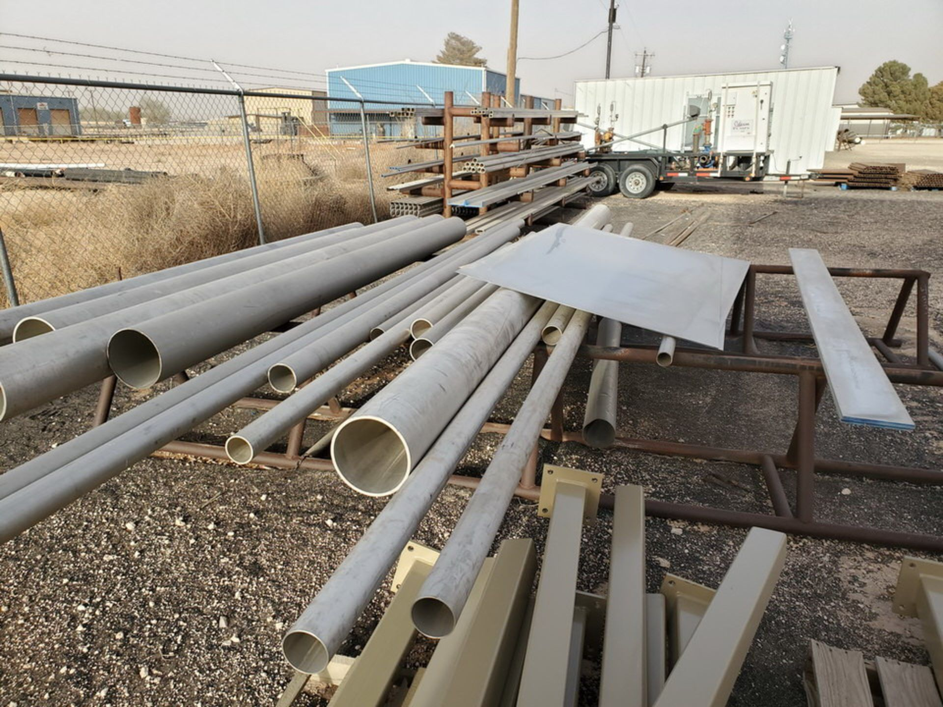 Assorted Matl. To Include But Not Limited To: S/S Flat Bar, Pipe & Sheets (Rack Excluded) - Image 19 of 22
