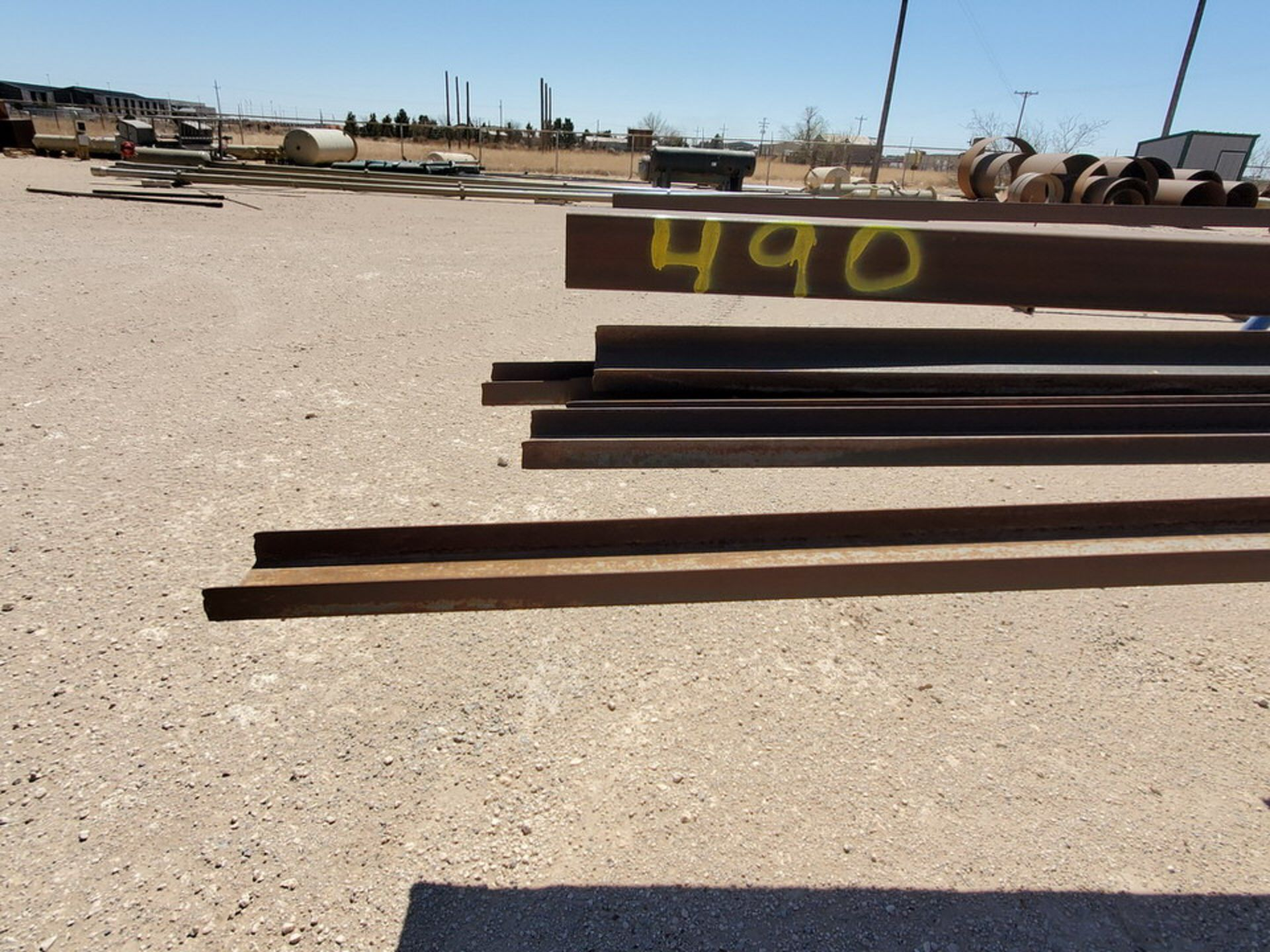 "Assorted Matl. To Include But Not Limited To: Angle, Channel, Sq. Tubing, Rect. Tubing, etc., 6"" - - Image 4 of 16"