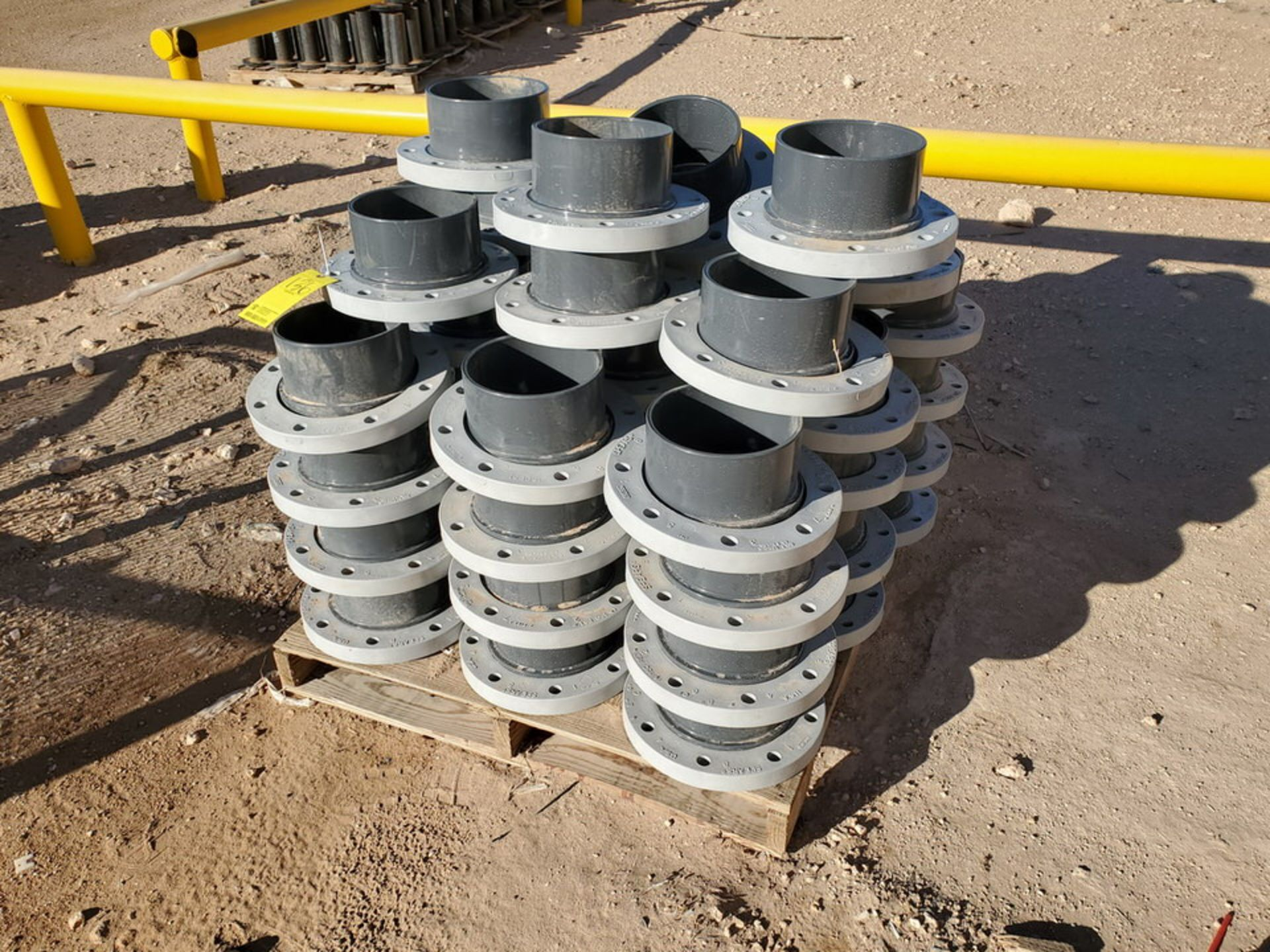 "Spears (46) 8"" PVC WN Flanges RF 150# - Image 3 of 5"