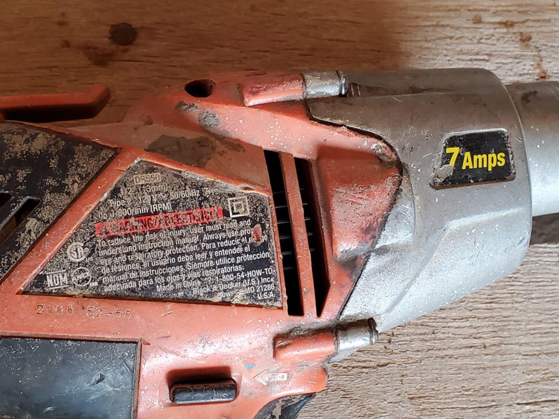 """Dewalt & Black & Decker (2) 1/2"""" VSR Drill 120V, 7A - Image 5 of 5"""