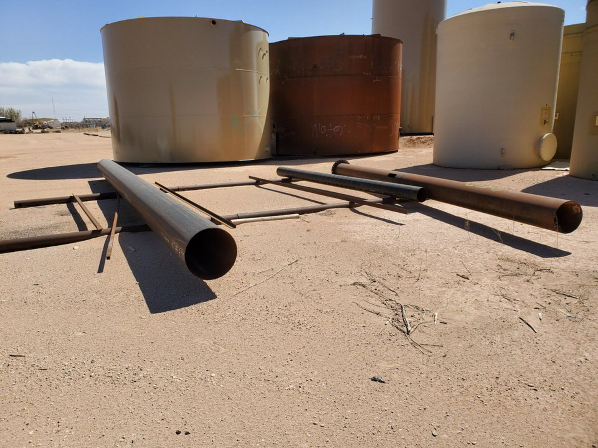 Assorted Stl Material To Include Butg Not Limited To: Pipe, Angle, Sq. Tubing, etc.; Size Range: - Image 3 of 12