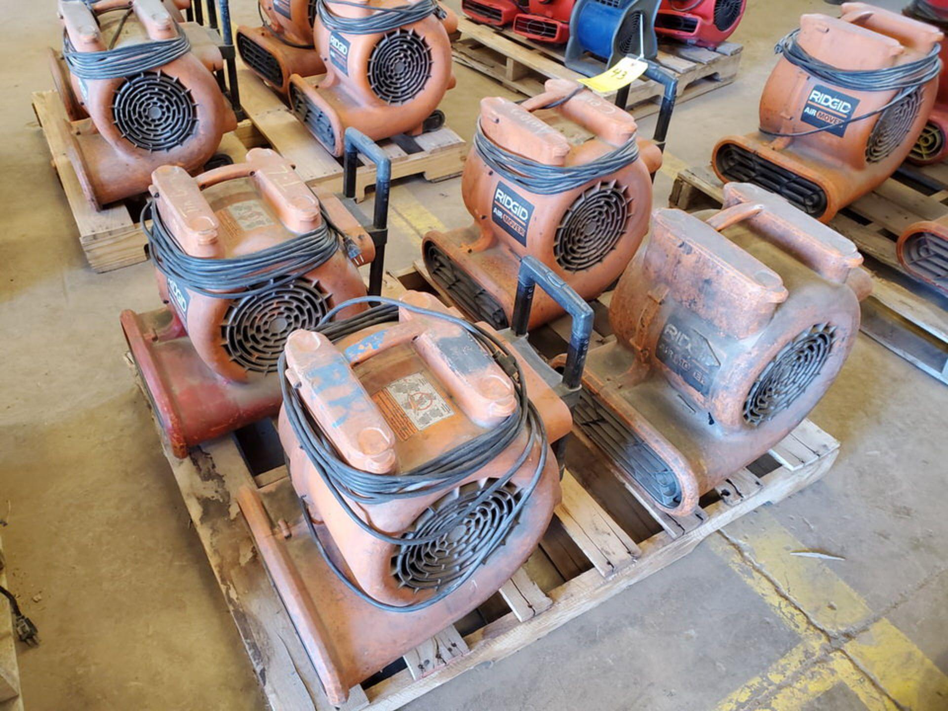 Ridgid (4) Air Blowers 120V, 3A, 60HZ