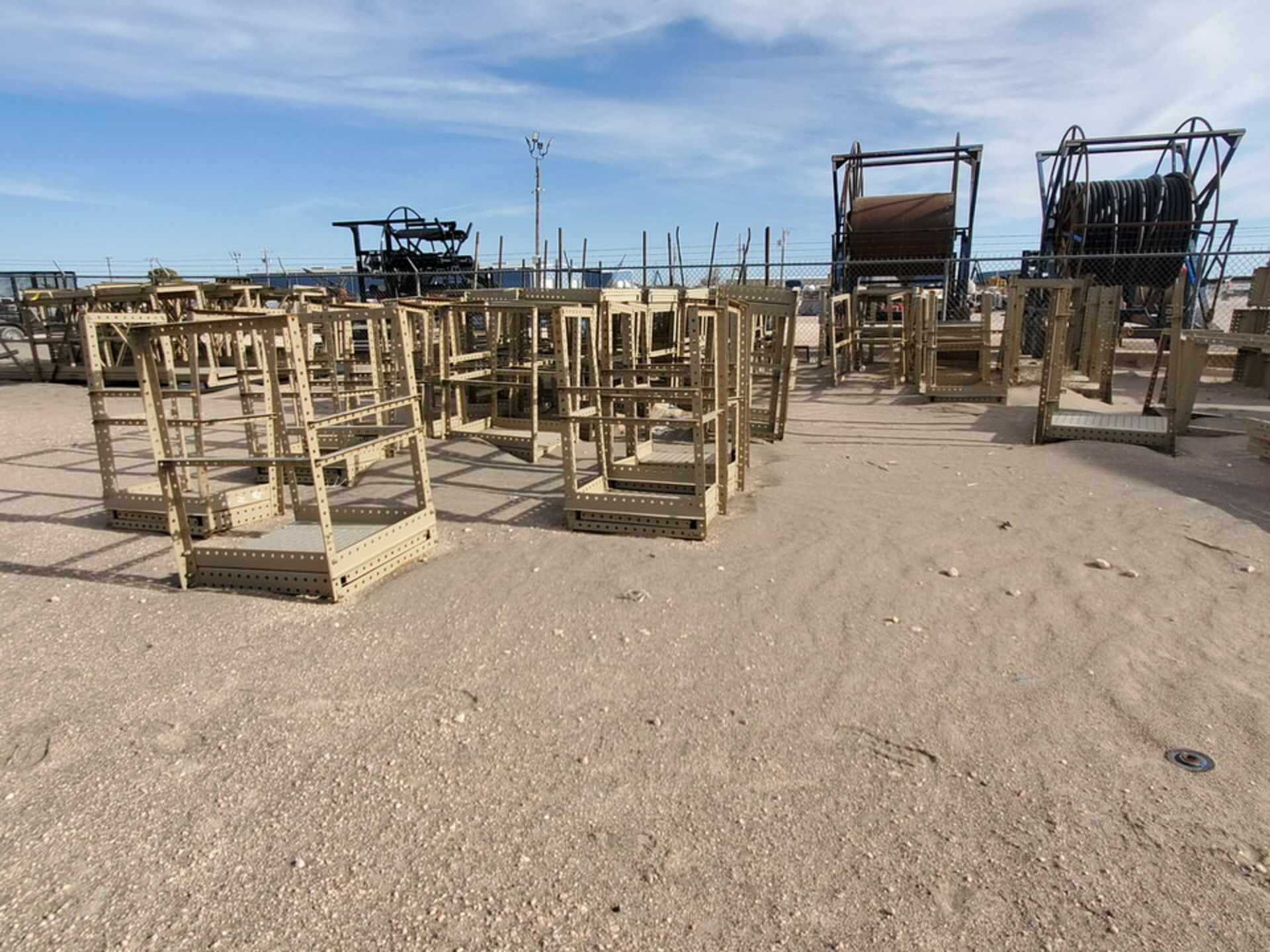 Disassembled Catwalk Sections - Image 4 of 12