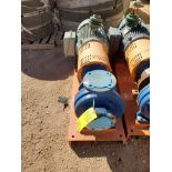 2018 Griswold 811M Centrifugal Pump Size: 4 x 3-10, 7.83 Imp Dia; W/ 50HP Motor