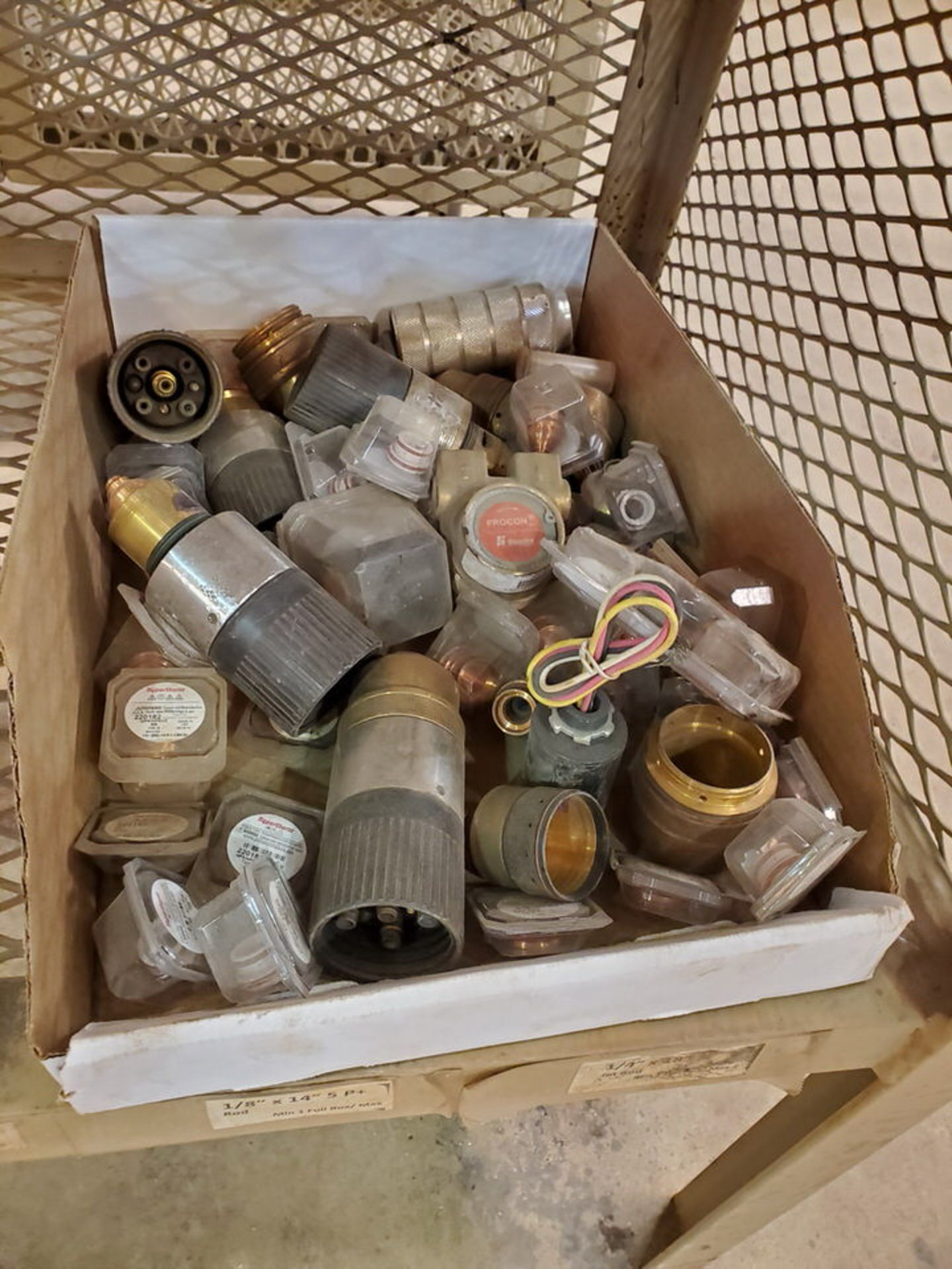 Assorted Welding Material To Include But Not Limited To: Electrodes, Tips, Copper Fittings, etc. ( - Image 3 of 7
