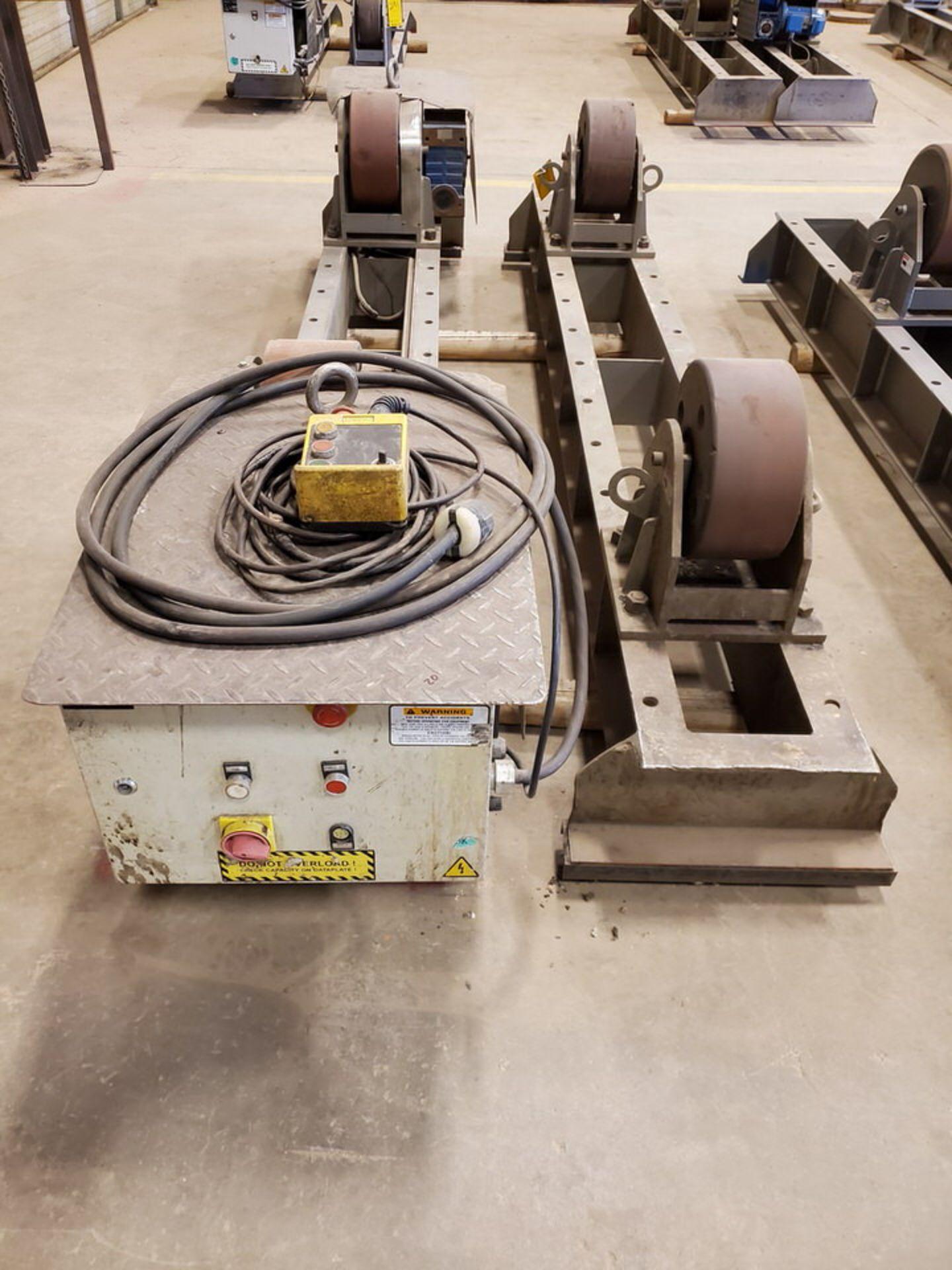 "Profax TR-40000 Turn Roll 20H Cap., 440V, 15A, 50/60HZ, 3PH, RPM: 0-1.7, 6"" Wheel Dia. - Image 5 of 8"