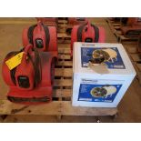 Strongway & Ironton (4) Air Blowers (3) 115V, 1HP, 8.5A; (1) 120V, 3.8A, 430W, 1300RPM
