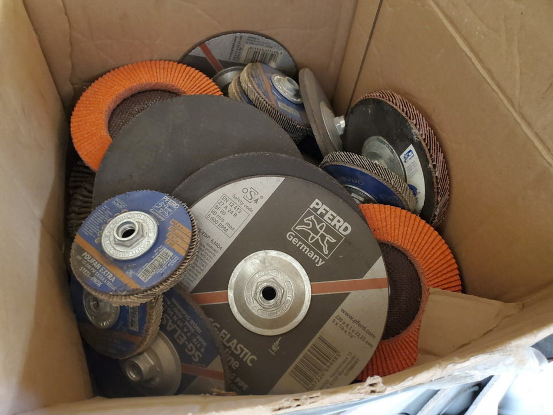 Radnor, LE Welding Accessories To Include But Not Limitied To: Grinding, Cutting & Flap Discs, - Image 21 of 24