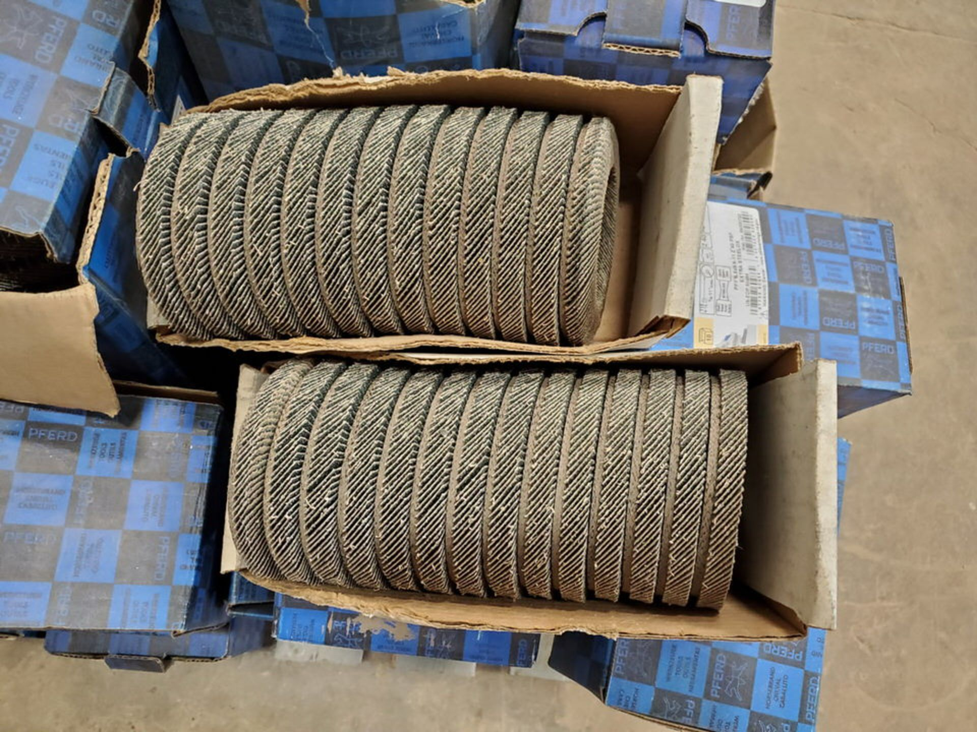 """Pferd Assorted Grinding & Flap Discs & Wire Brushes Size Range: 4-1/2""""-9"""" x 1/8"""" - Image 5 of 10"""
